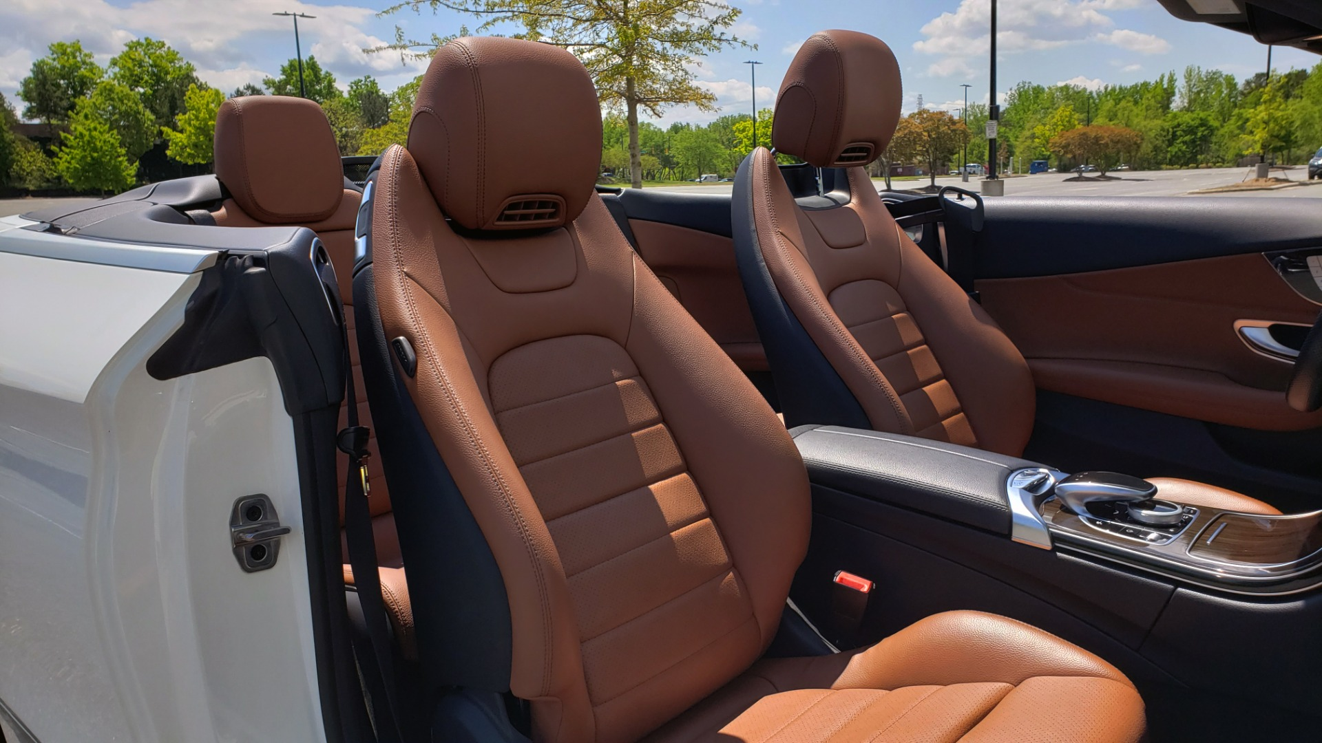 Used 2018 Mercedes-Benz C-CLASS C 300 CABRIOLET PREMIUM / AWD / BURMESTER SND / APPLE / REARVIEW for sale $44,995 at Formula Imports in Charlotte NC 28227 65