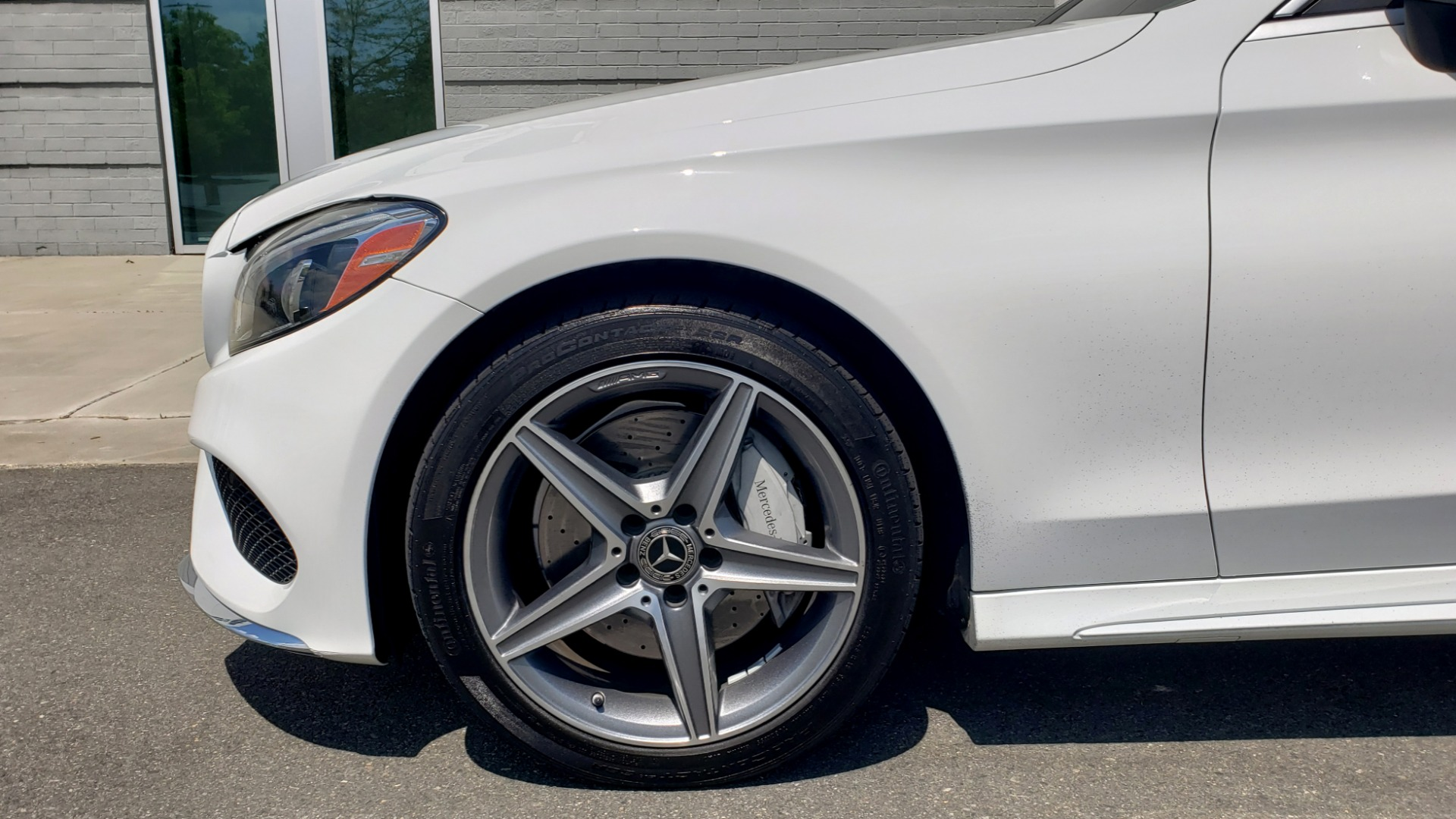 Used 2018 Mercedes-Benz C-Class C 300 for sale Sold at Formula Imports in Charlotte NC 28227 78