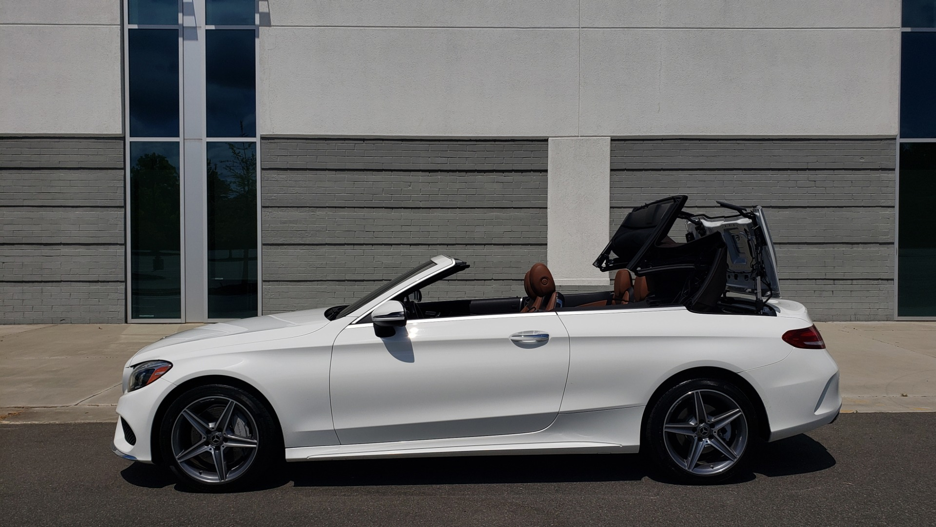 Used 2018 Mercedes-Benz C-CLASS C 300 CABRIOLET PREMIUM / AWD / BURMESTER SND / APPLE / REARVIEW for sale $44,995 at Formula Imports in Charlotte NC 28227 9