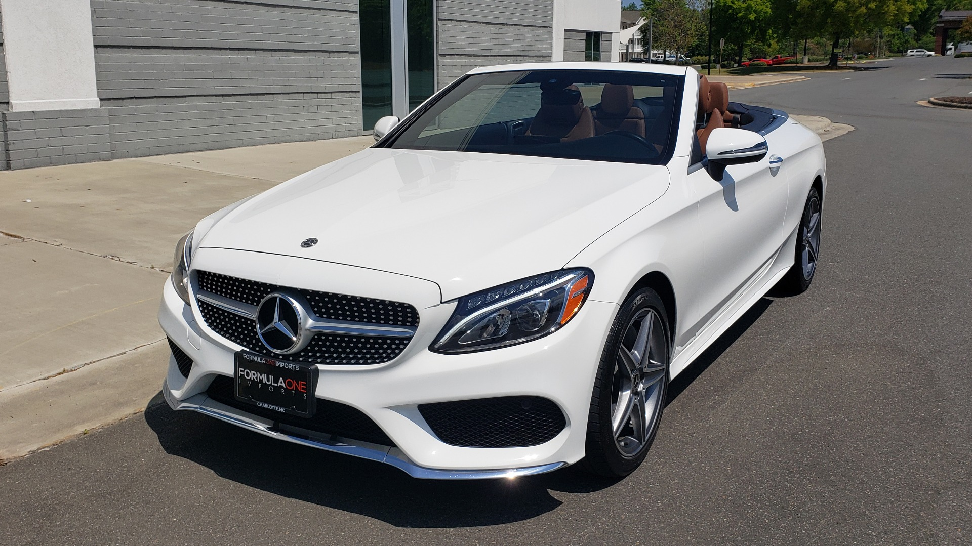 Used 2018 Mercedes-Benz C-Class C 300 for sale Sold at Formula Imports in Charlotte NC 28227 1