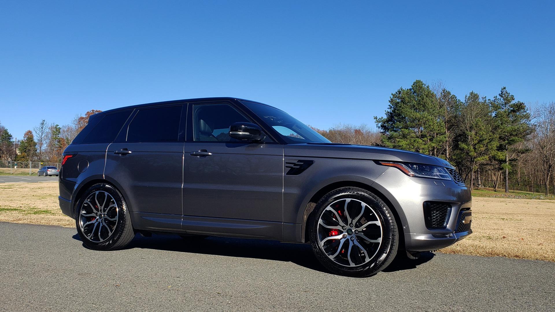 Used 2018 Land Rover RANGE ROVER SPORT DYNAMIC SC V8 / CLIMATE CMFRT / VISION ASST / MERIDIAN for sale Sold at Formula Imports in Charlotte NC 28227 4