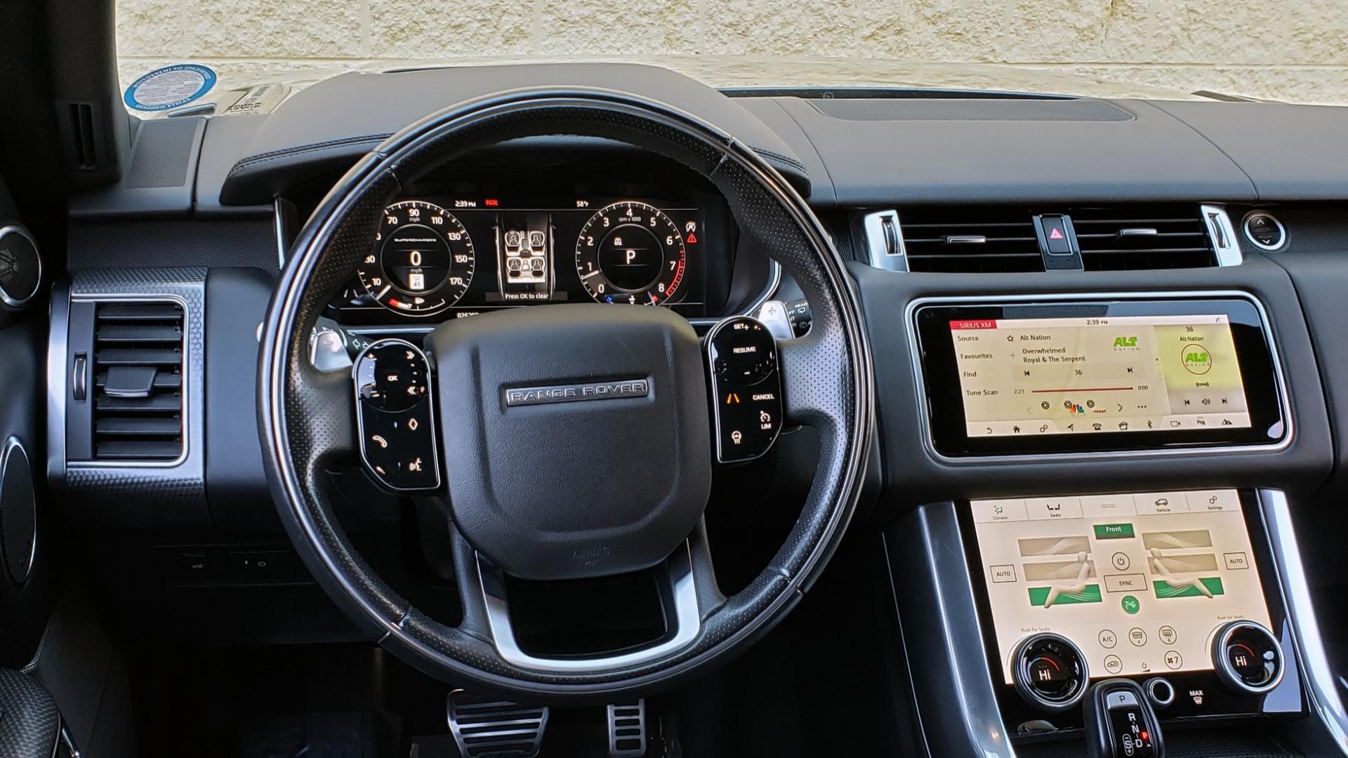 Used 2018 Land Rover RANGE ROVER SPORT DYNAMIC SC V8 / CLIMATE CMFRT / VISION ASST / MERIDIAN for sale Sold at Formula Imports in Charlotte NC 28227 48