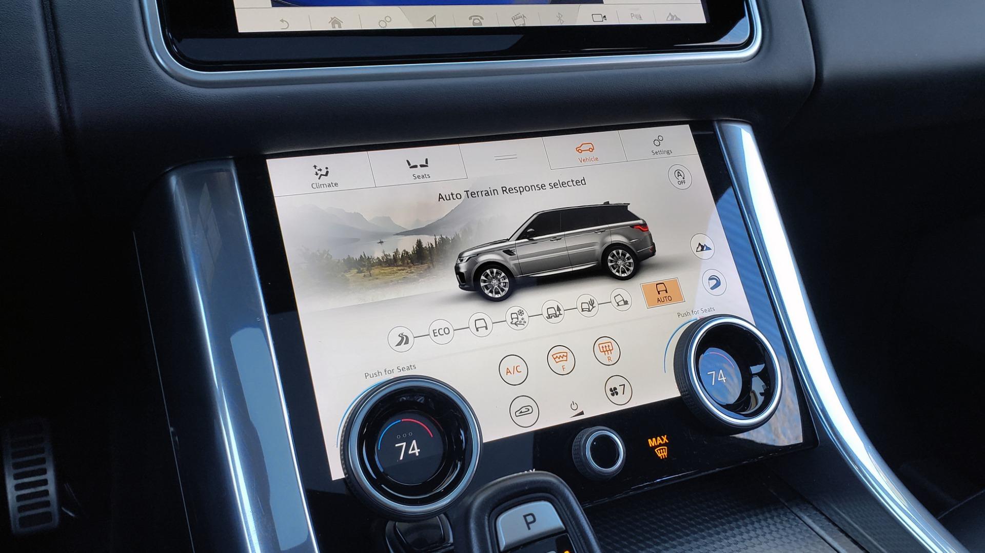 Used 2018 Land Rover RANGE ROVER SPORT DYNAMIC SC V8 / CLIMATE CMFRT / VISION ASST / MERIDIAN for sale Sold at Formula Imports in Charlotte NC 28227 59