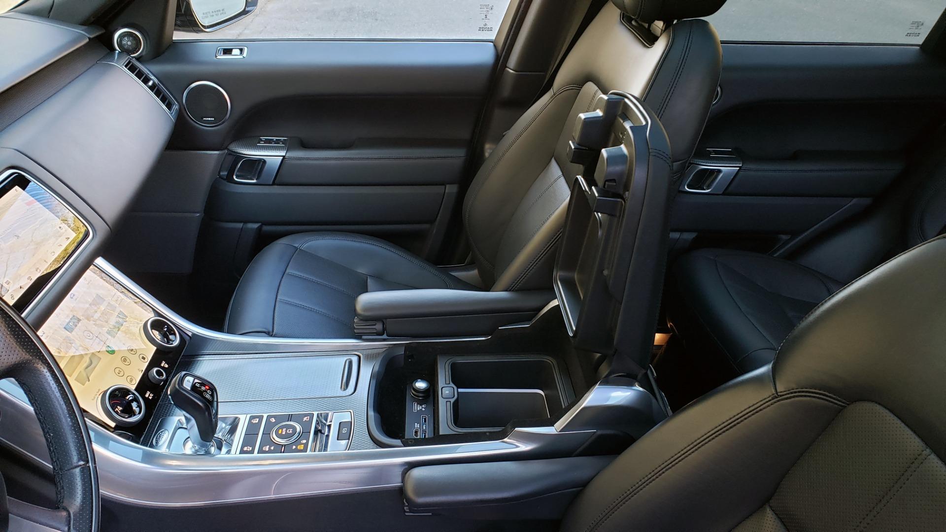 Used 2018 Land Rover RANGE ROVER SPORT DYNAMIC SC V8 / CLIMATE CMFRT / VISION ASST / MERIDIAN for sale Sold at Formula Imports in Charlotte NC 28227 66