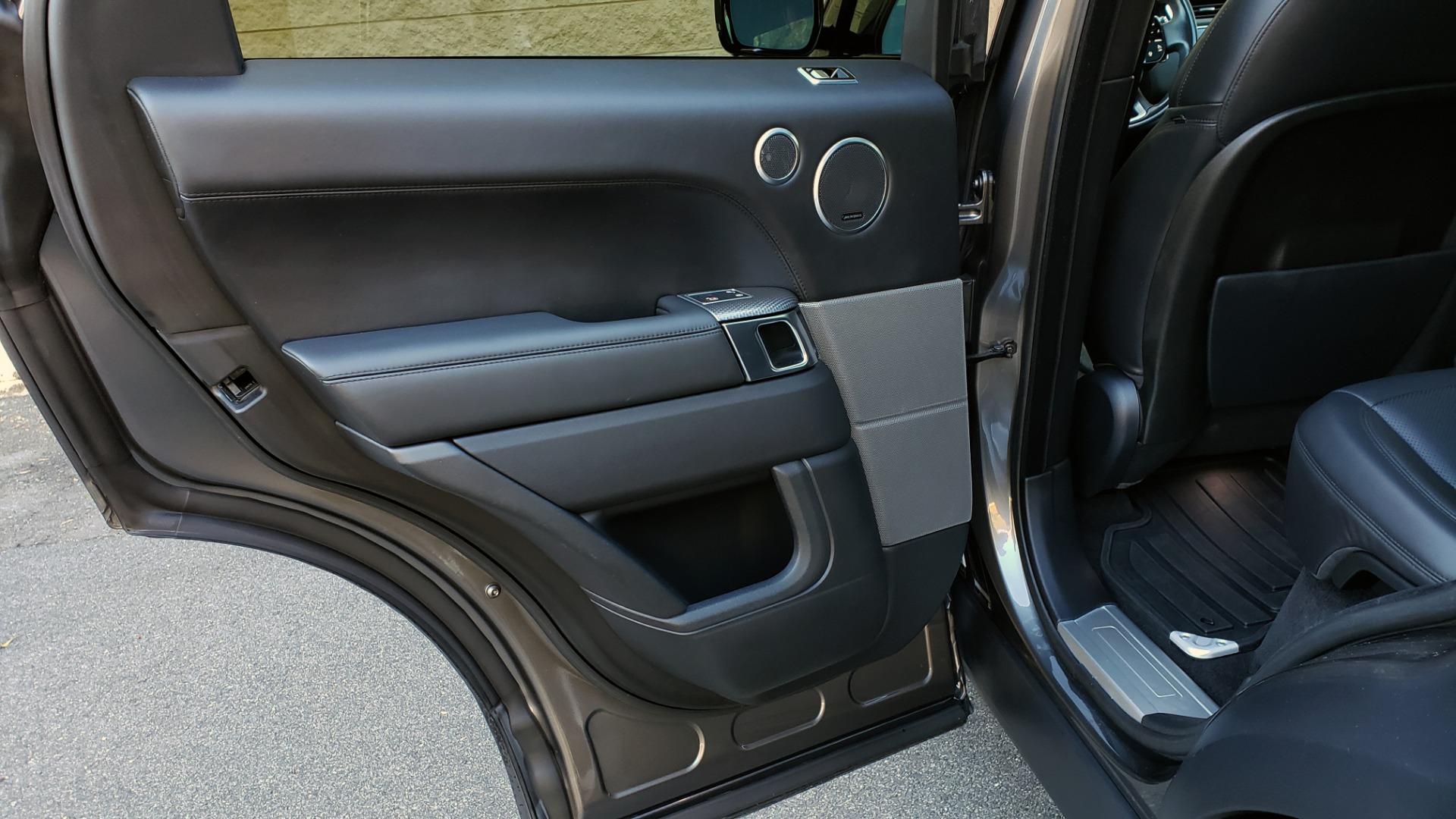 Used 2018 Land Rover RANGE ROVER SPORT DYNAMIC SC V8 / CLIMATE CMFRT / VISION ASST / MERIDIAN for sale Sold at Formula Imports in Charlotte NC 28227 69