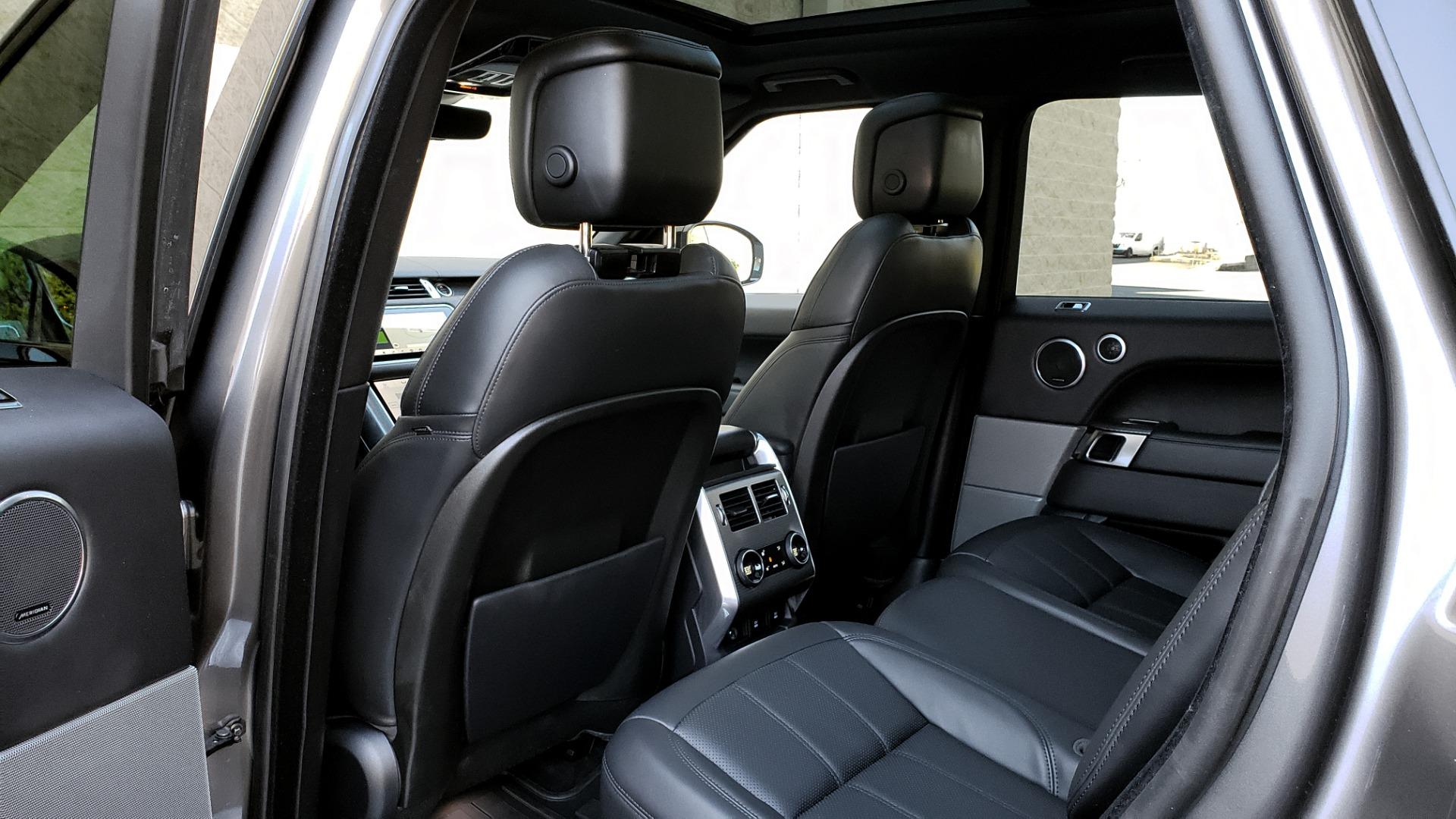 Used 2018 Land Rover RANGE ROVER SPORT DYNAMIC SC V8 / CLIMATE CMFRT / VISION ASST / MERIDIAN for sale Sold at Formula Imports in Charlotte NC 28227 73