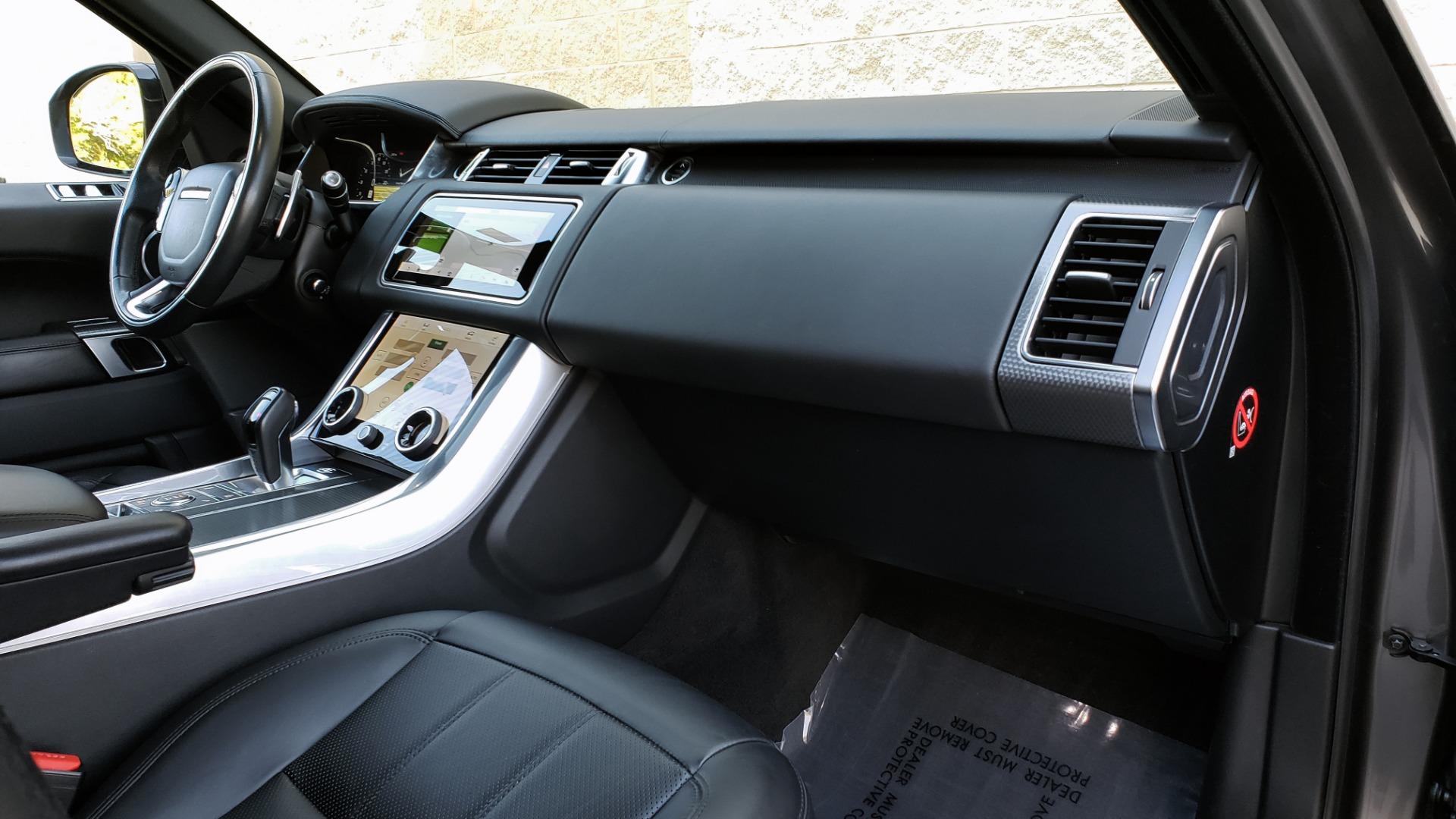 Used 2018 Land Rover RANGE ROVER SPORT DYNAMIC SC V8 / CLIMATE CMFRT / VISION ASST / MERIDIAN for sale Sold at Formula Imports in Charlotte NC 28227 80