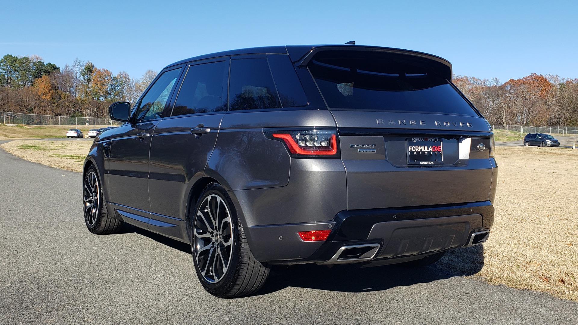 Used 2018 Land Rover RANGE ROVER SPORT DYNAMIC SC V8 / CLIMATE CMFRT / VISION ASST / MERIDIAN for sale Sold at Formula Imports in Charlotte NC 28227 9