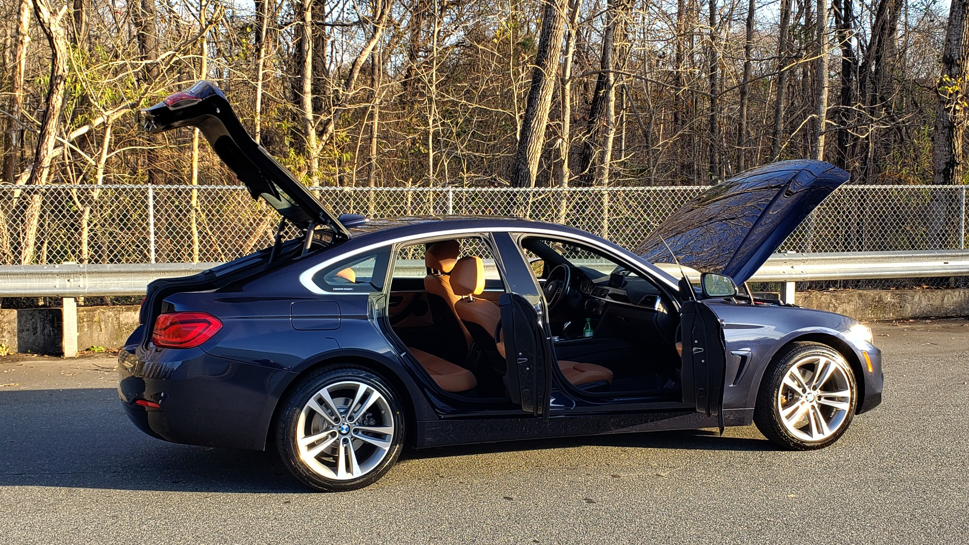 Used 2018 BMW 4 SERIES 430I XDRIVE PREMIUM / NAV / APPLE CAR PLAY / ESSENTIALS / HTD ST for sale Sold at Formula Imports in Charlotte NC 28227 11