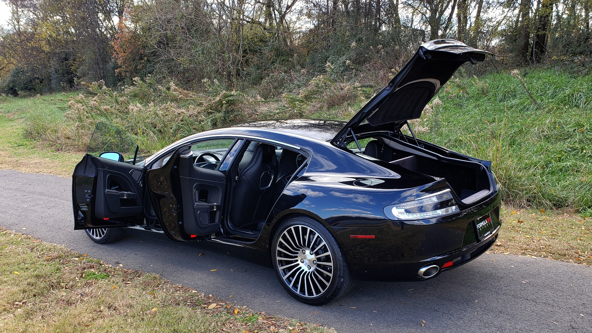 Used 2012 Aston Martin RAPIDE LUXURY 6.0L V12 / NAV / B&O SND / ENTERTAINMENT / REARVIEW for sale Sold at Formula Imports in Charlotte NC 28227 20