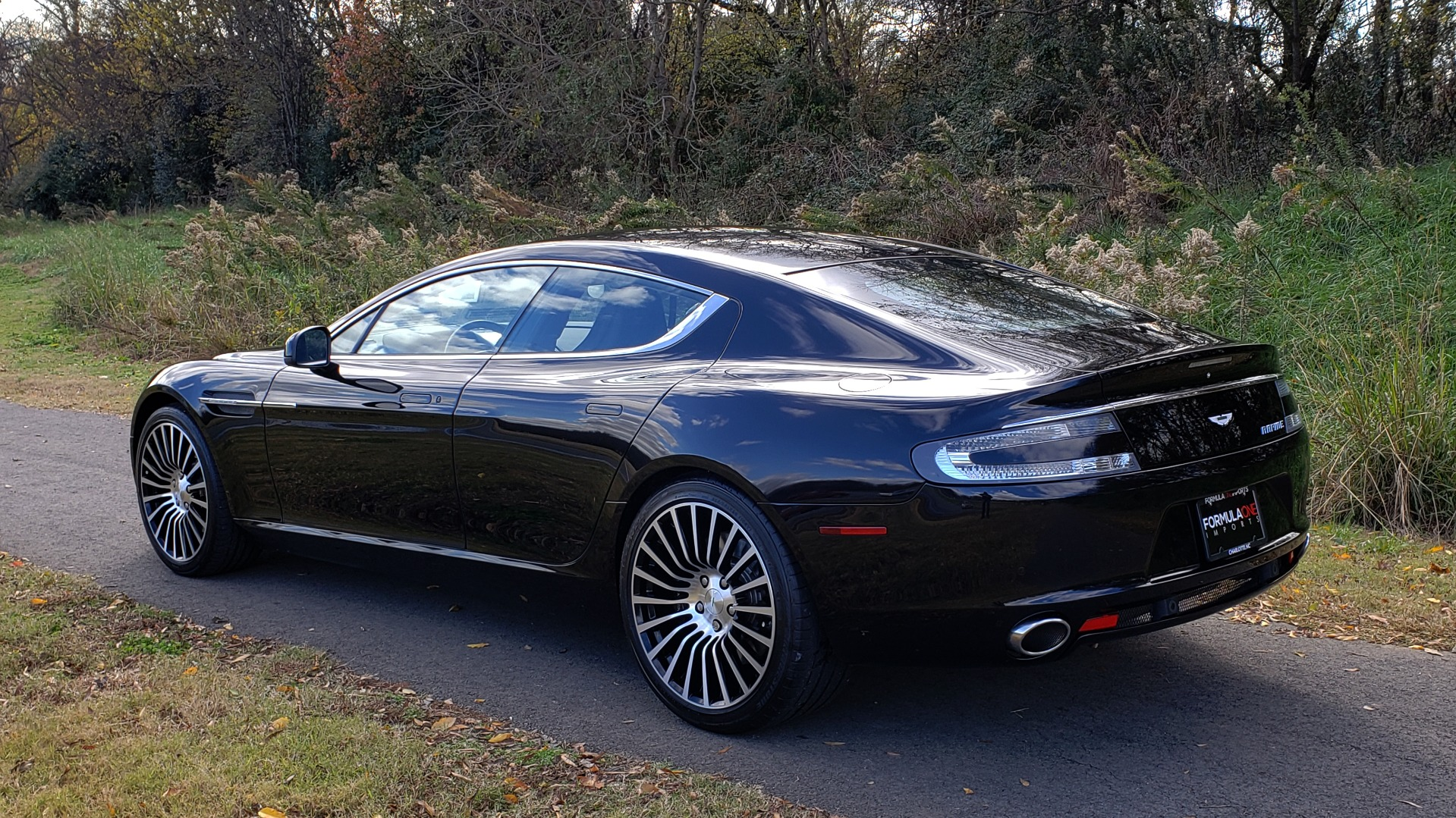 Used 2012 Aston Martin RAPIDE LUXURY 6.0L V12 / NAV / B&O SND / ENTERTAINMENT / REARVIEW for sale Sold at Formula Imports in Charlotte NC 28227 3