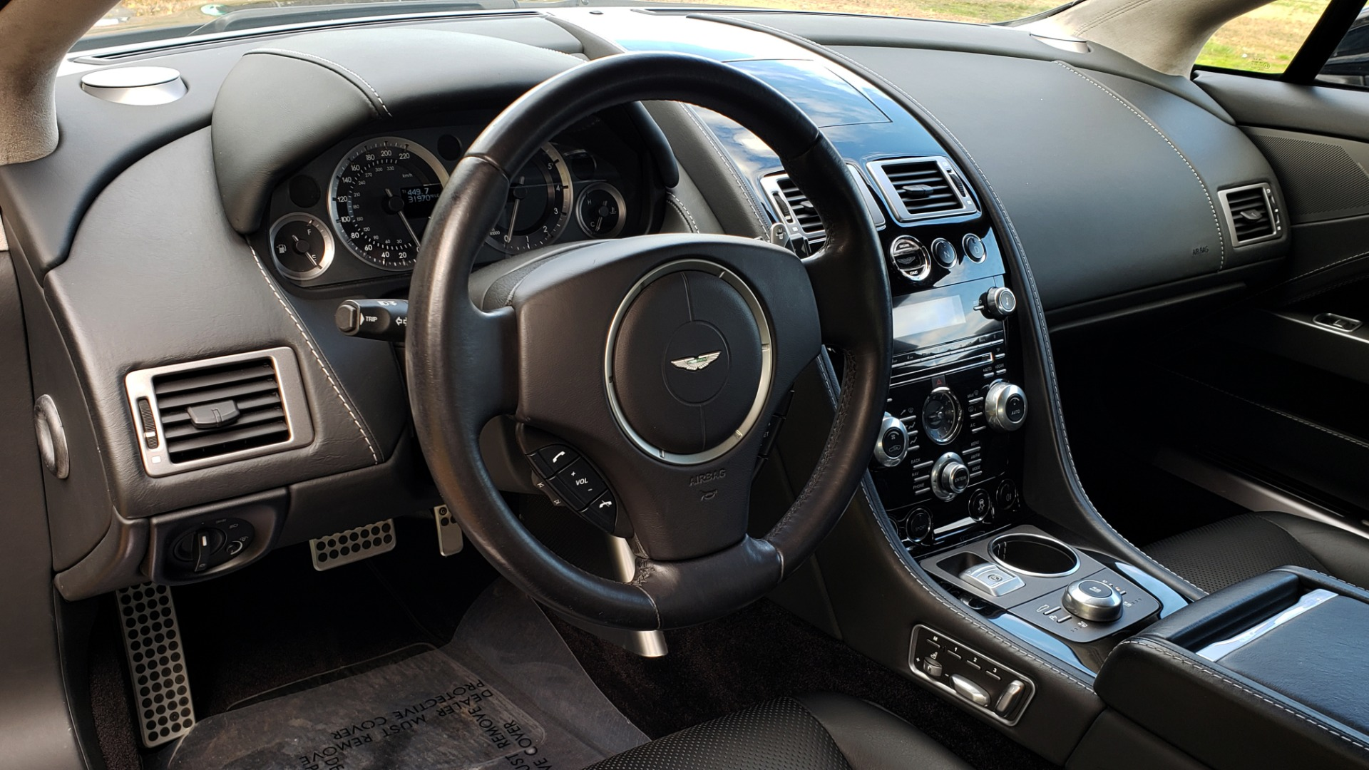 Used 2012 Aston Martin RAPIDE LUXURY 6.0L V12 / NAV / B&O SND / ENTERTAINMENT / REARVIEW for sale Sold at Formula Imports in Charlotte NC 28227 38