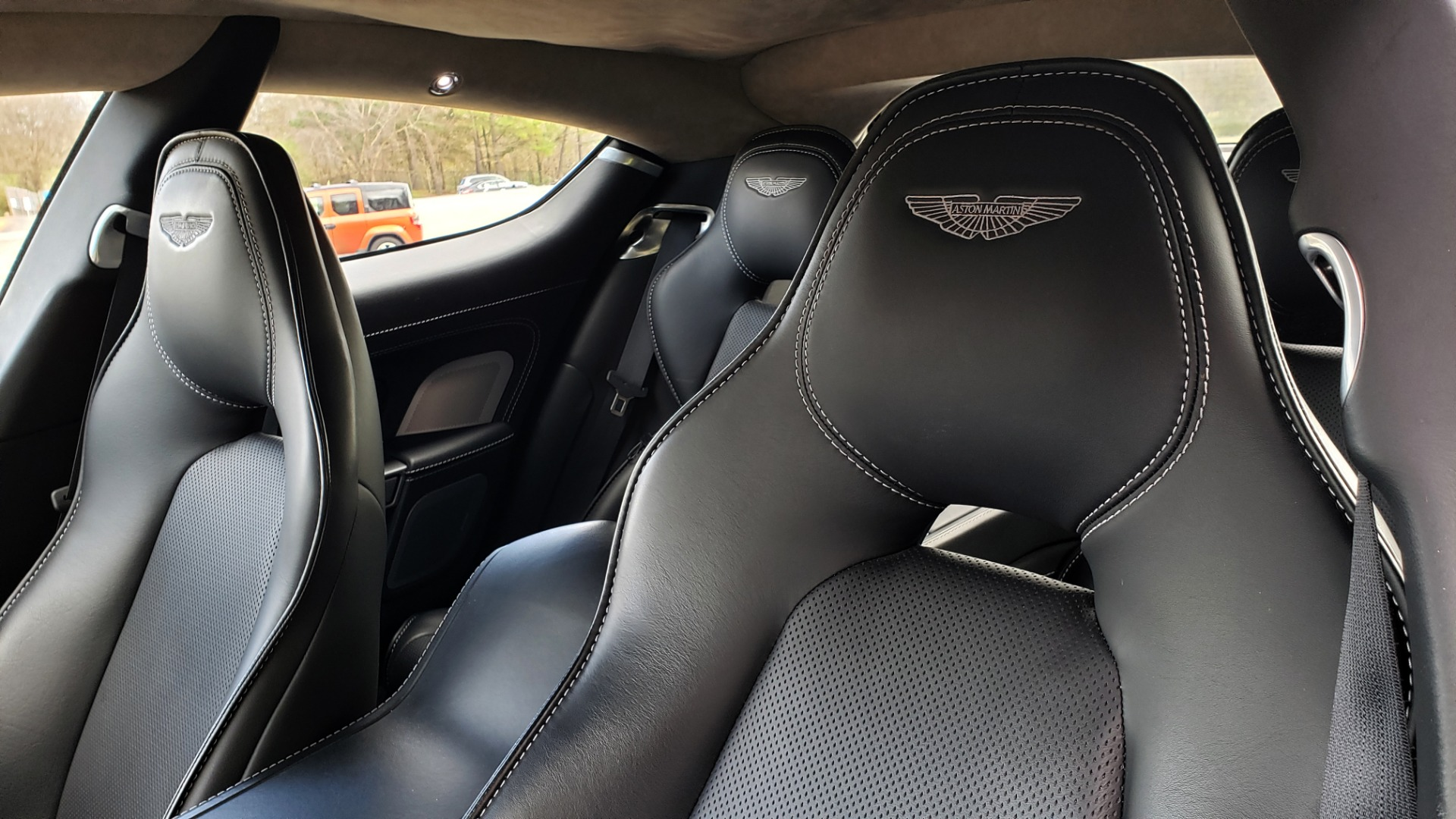Used 2012 Aston Martin RAPIDE LUXURY 6.0L V12 / NAV / B&O SND / ENTERTAINMENT / REARVIEW for sale Sold at Formula Imports in Charlotte NC 28227 45