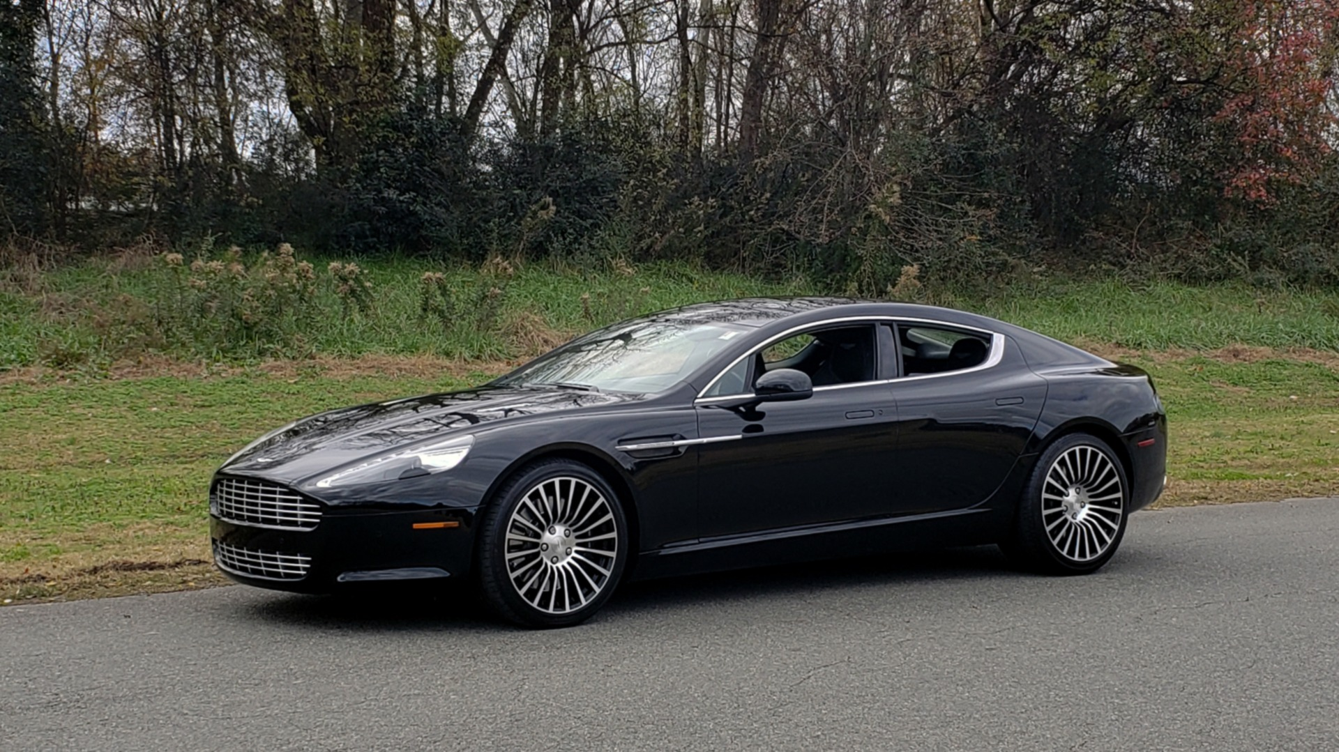 Used 2012 Aston Martin RAPIDE LUXURY 6.0L V12 / NAV / B&O SND / ENTERTAINMENT / REARVIEW for sale Sold at Formula Imports in Charlotte NC 28227 80