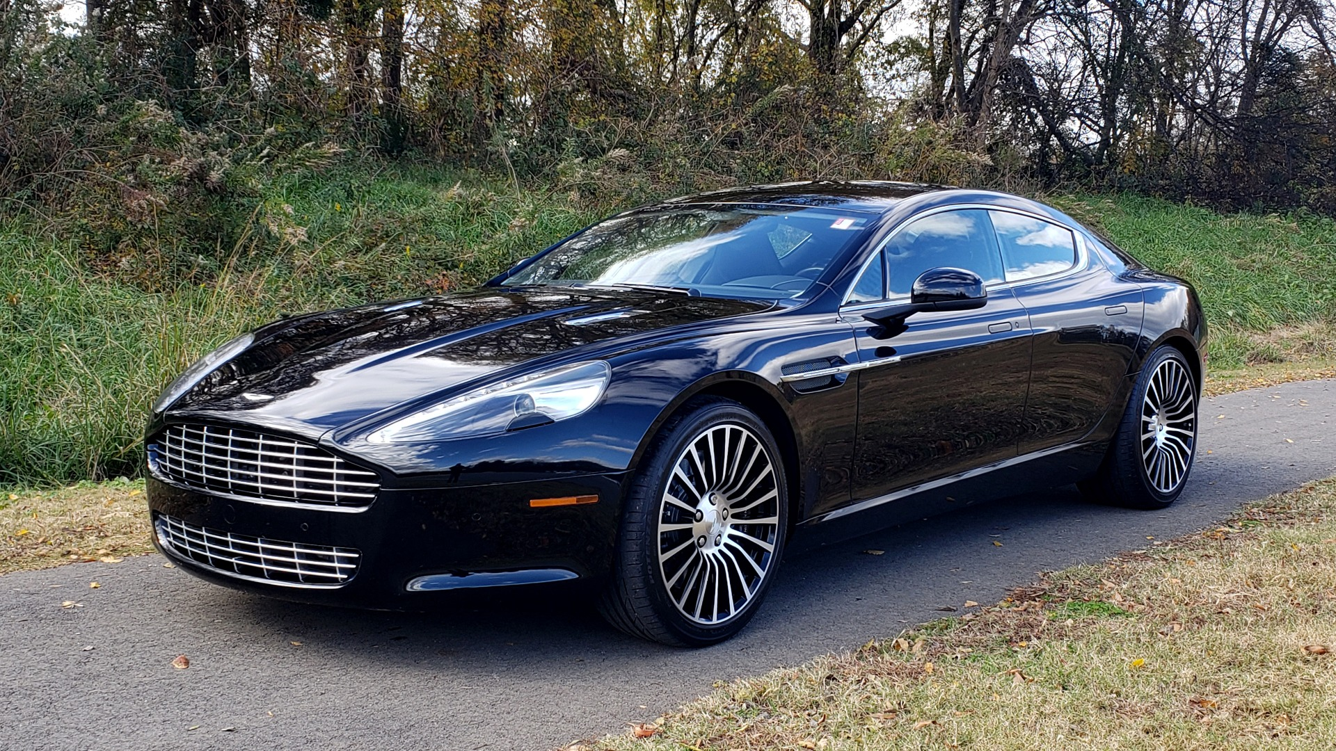 Used 2012 Aston Martin RAPIDE LUXURY 6.0L V12 / NAV / B&O SND / ENTERTAINMENT / REARVIEW for sale Sold at Formula Imports in Charlotte NC 28227 1