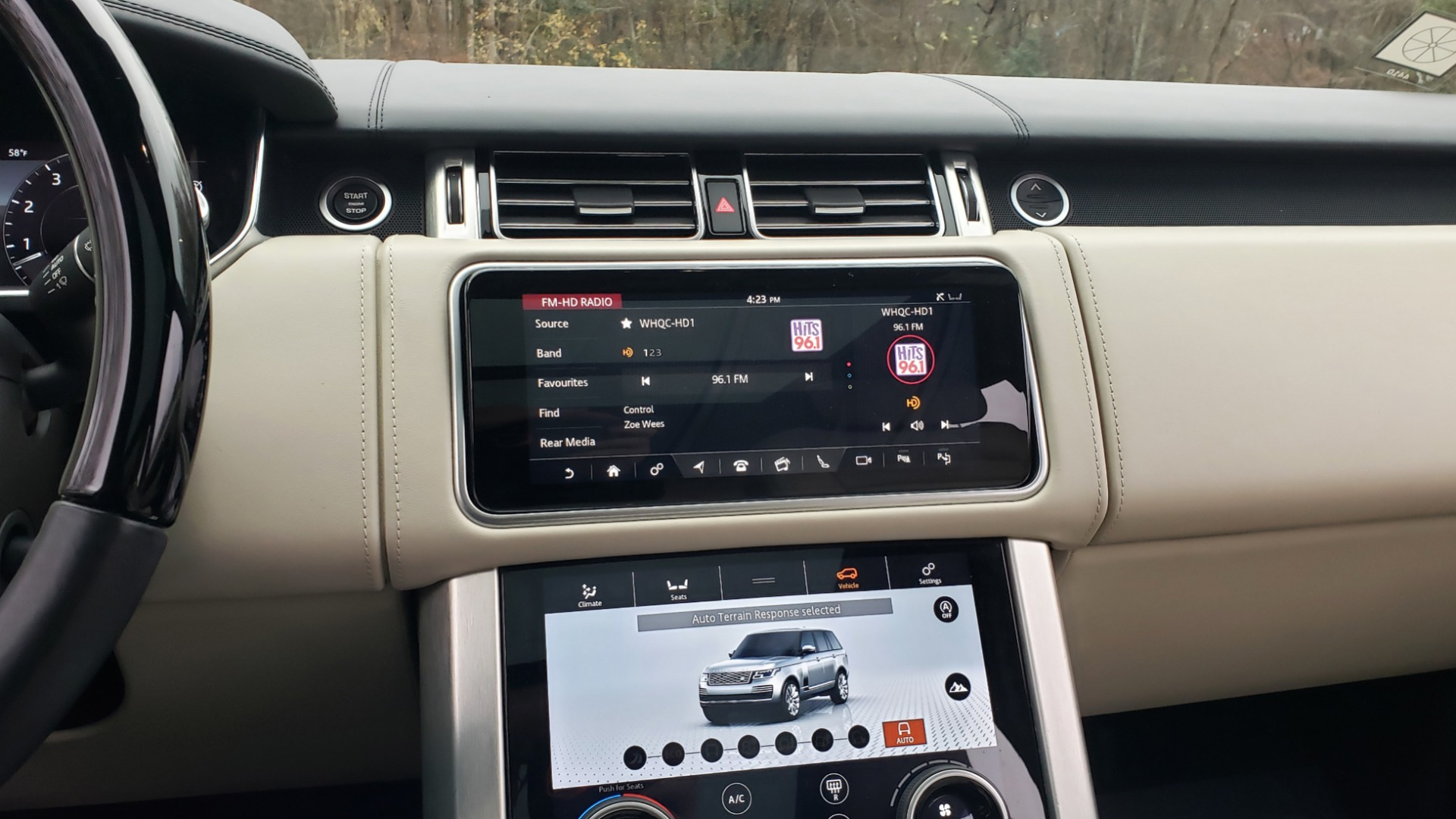 Used 2018 Land Rover RANGE ROVER AUTOBIOGRAPHY SC V8 / LONG / NAV / PANOROOF / ENT SYS / REARVIEW for sale $117,999 at Formula Imports in Charlotte NC 28227 54