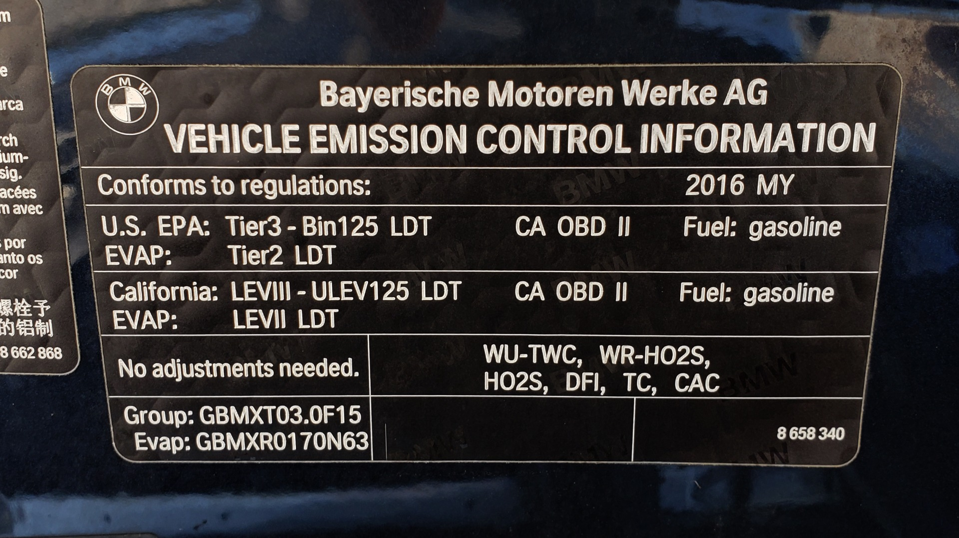 Used 2016 BMW X5 XDRIVE35I / PREM PKG / NAV / DRVR ASST PLUS / REARVIEW for sale $25,765 at Formula Imports in Charlotte NC 28227 13