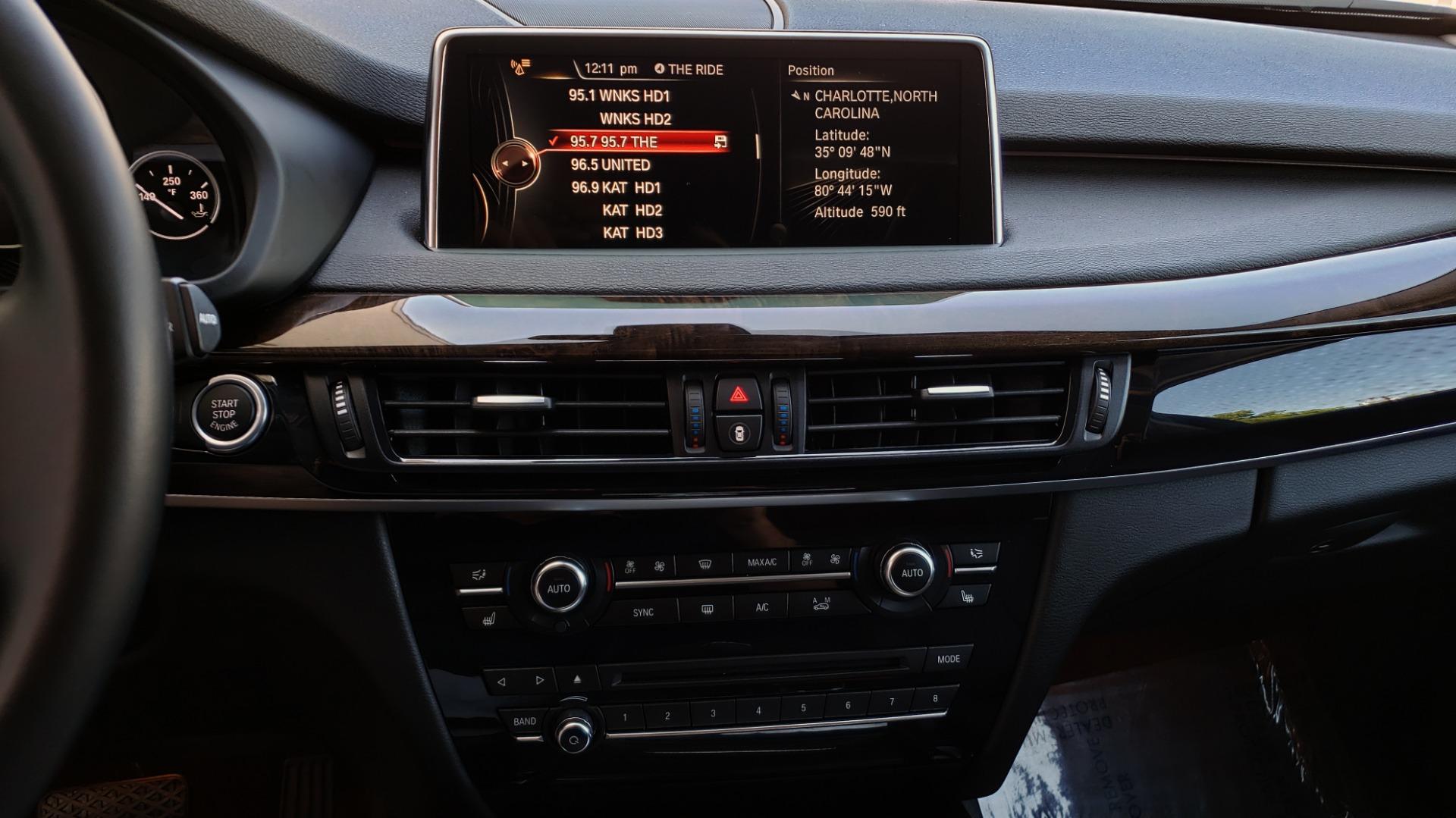 Used 2016 BMW X5 XDRIVE35I / PREM PKG / NAV / DRVR ASST PLUS / REARVIEW for sale $25,765 at Formula Imports in Charlotte NC 28227 30