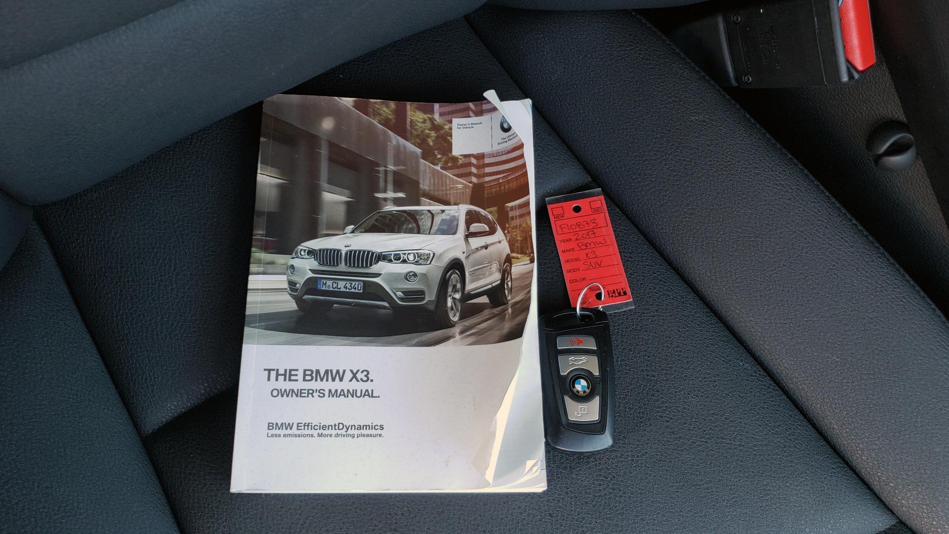 Used 2017 BMW X3 XDRIVE28I / PREM PKG / NAV / DRVR ASST / HTD STS / CAMERAS for sale Sold at Formula Imports in Charlotte NC 28227 100