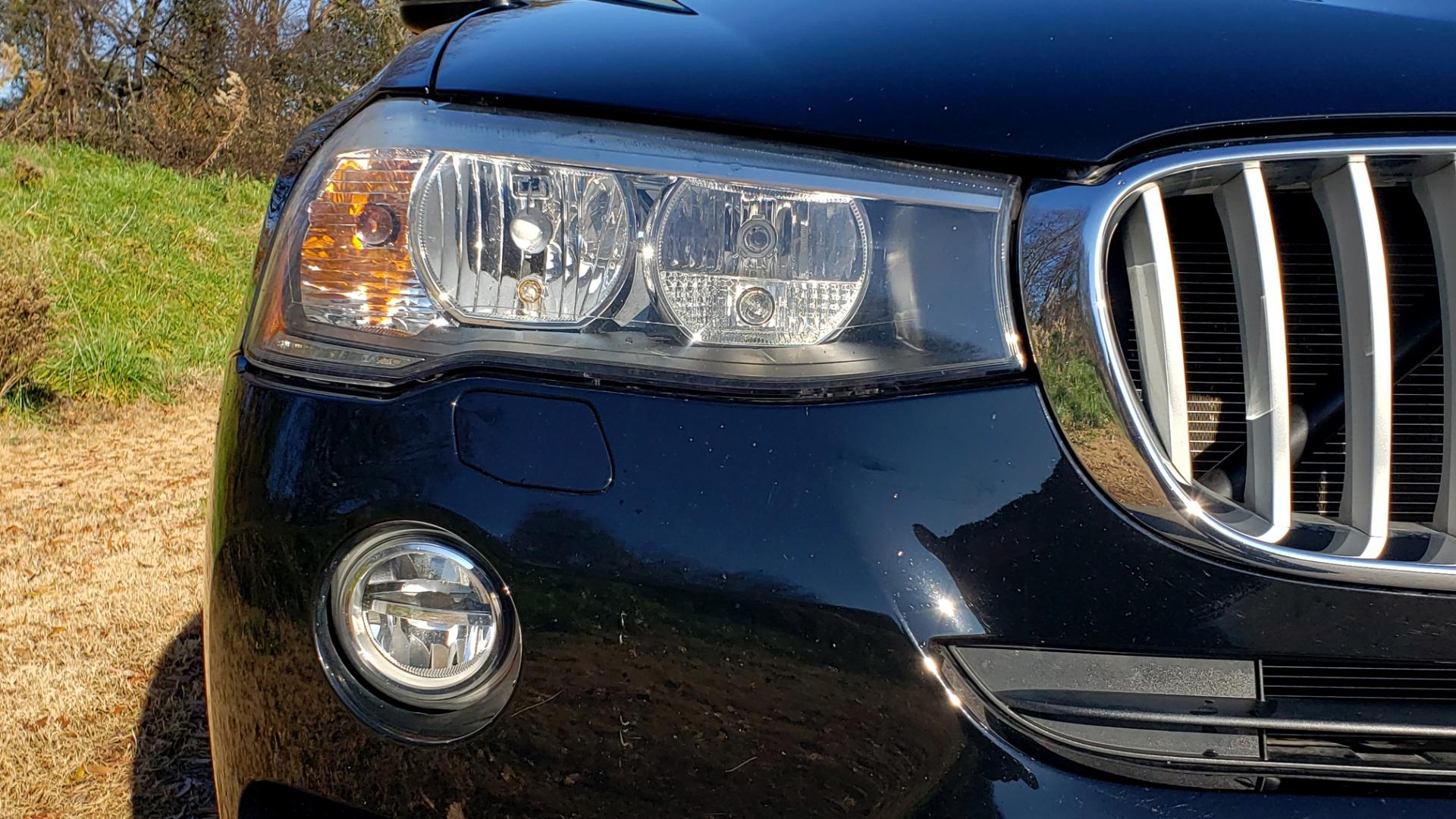 Used 2017 BMW X3 XDRIVE28I / PREM PKG / NAV / DRVR ASST / HTD STS / CAMERAS for sale Sold at Formula Imports in Charlotte NC 28227 12