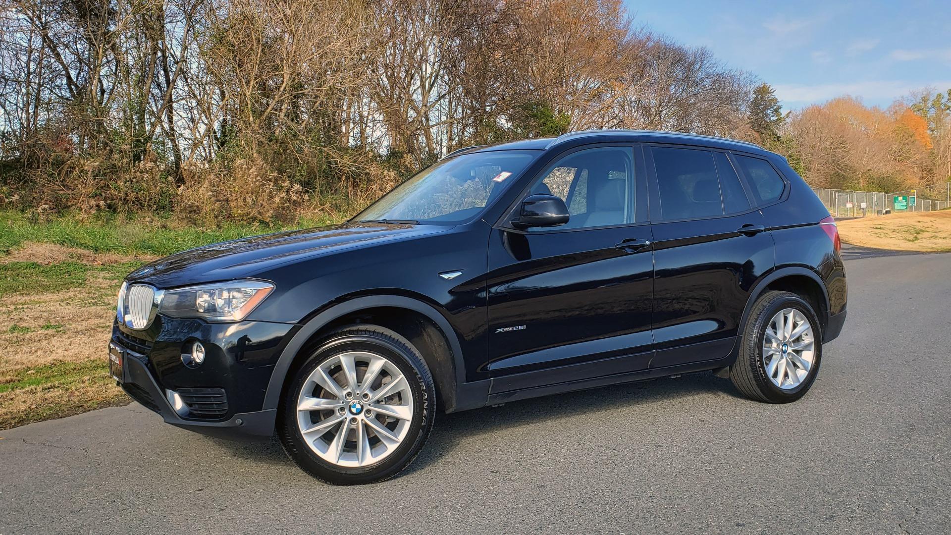 Used 2017 BMW X3 XDRIVE28I / PREM PKG / NAV / DRVR ASST / HTD STS / CAMERAS for sale Sold at Formula Imports in Charlotte NC 28227 2
