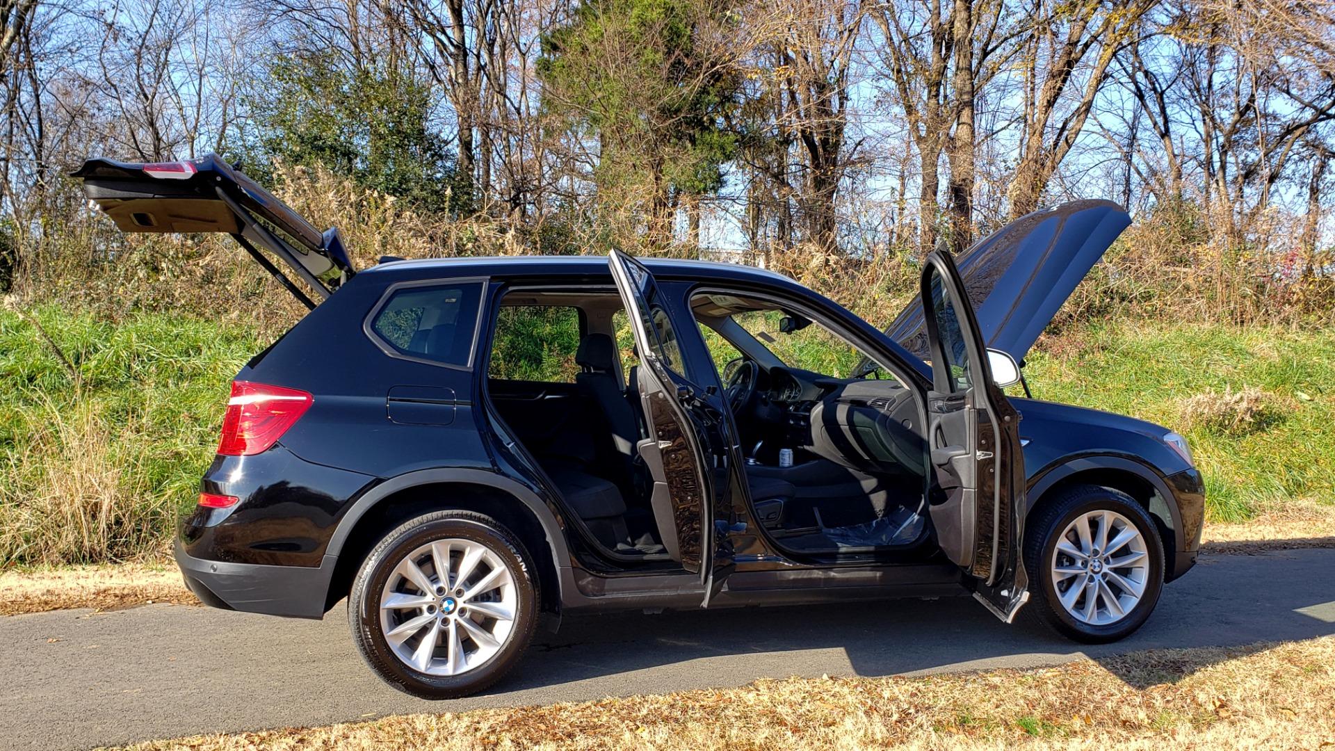 Used 2017 BMW X3 XDRIVE28I / PREM PKG / NAV / DRVR ASST / HTD STS / CAMERAS for sale Sold at Formula Imports in Charlotte NC 28227 23