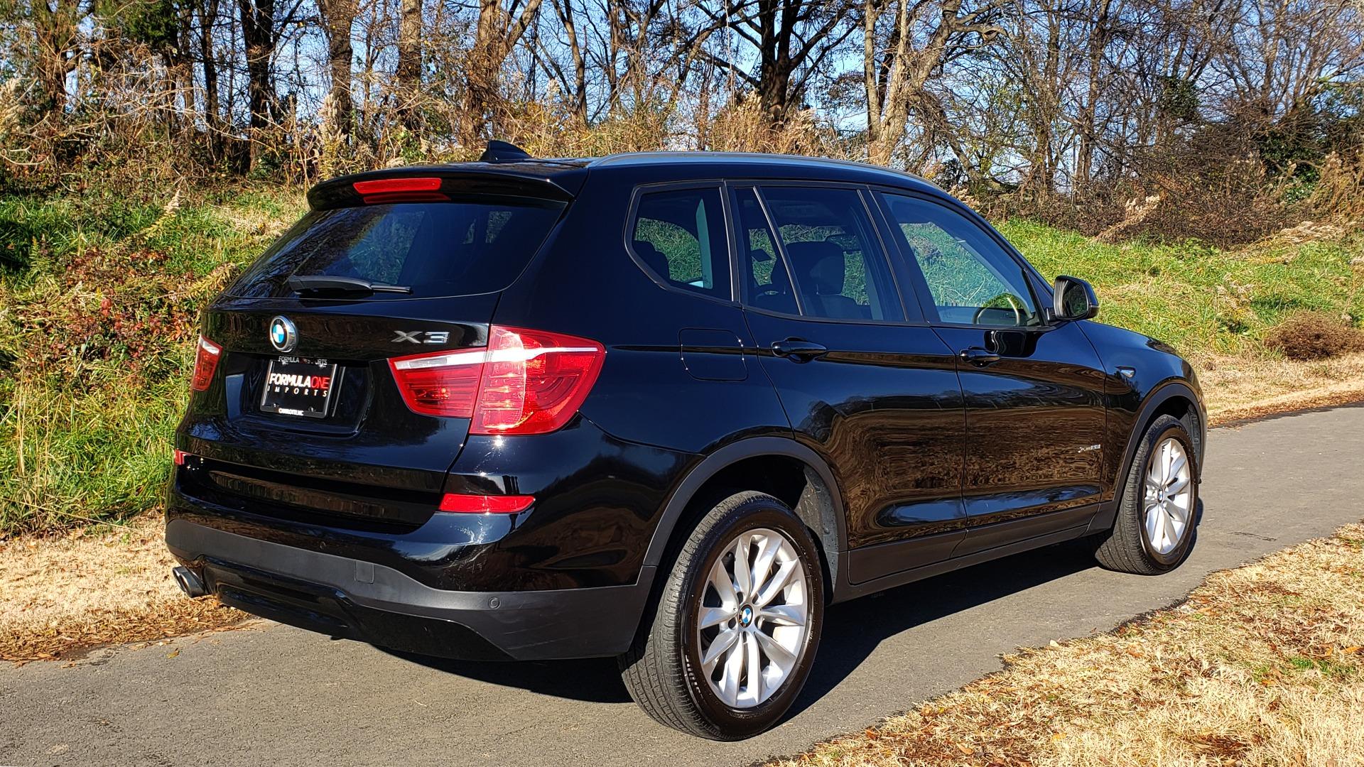 Used 2017 BMW X3 XDRIVE28I / PREM PKG / NAV / DRVR ASST / HTD STS / CAMERAS for sale Sold at Formula Imports in Charlotte NC 28227 3