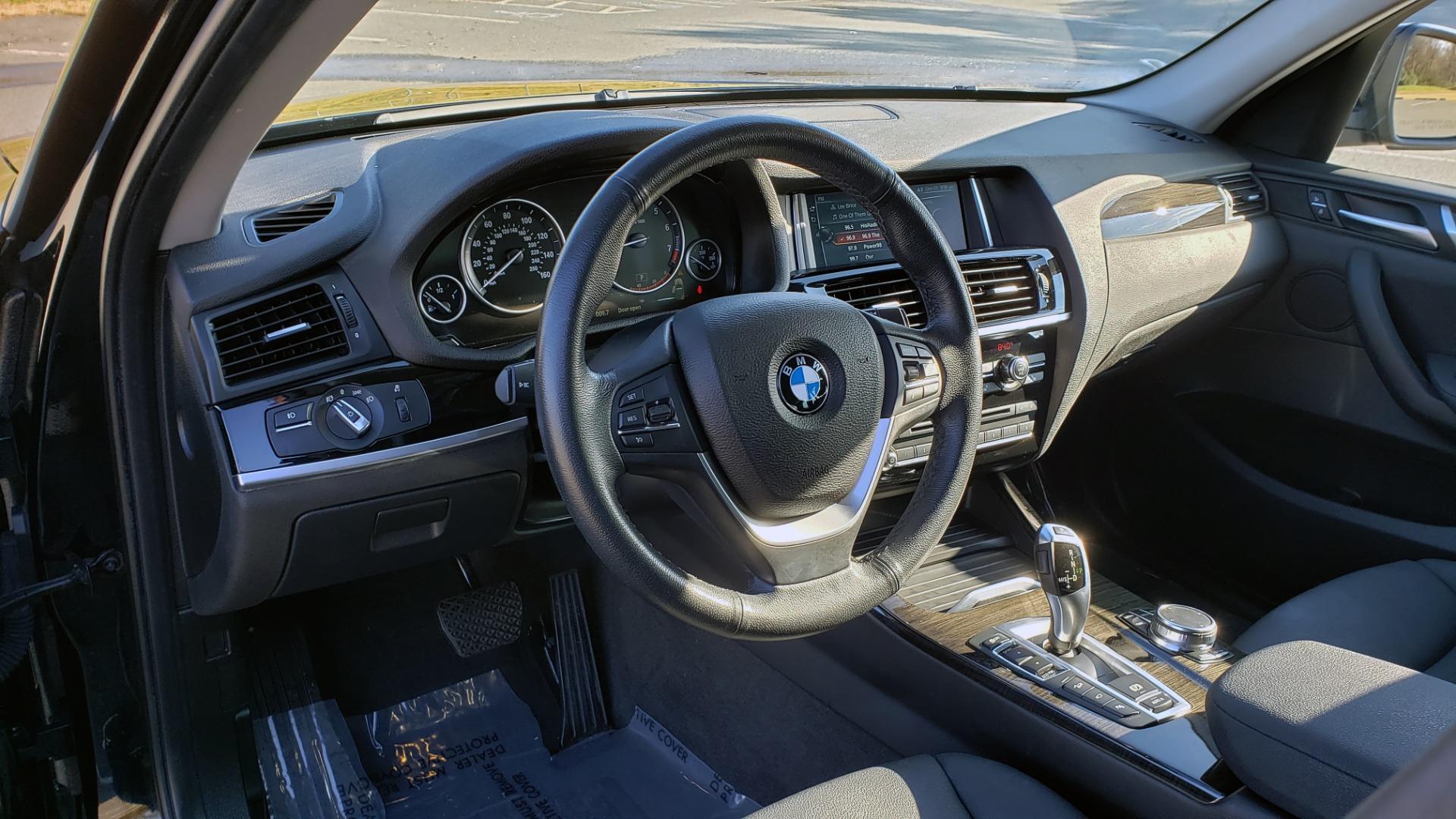 Used 2017 BMW X3 XDRIVE28I / PREM PKG / NAV / DRVR ASST / HTD STS / CAMERAS for sale Sold at Formula Imports in Charlotte NC 28227 43