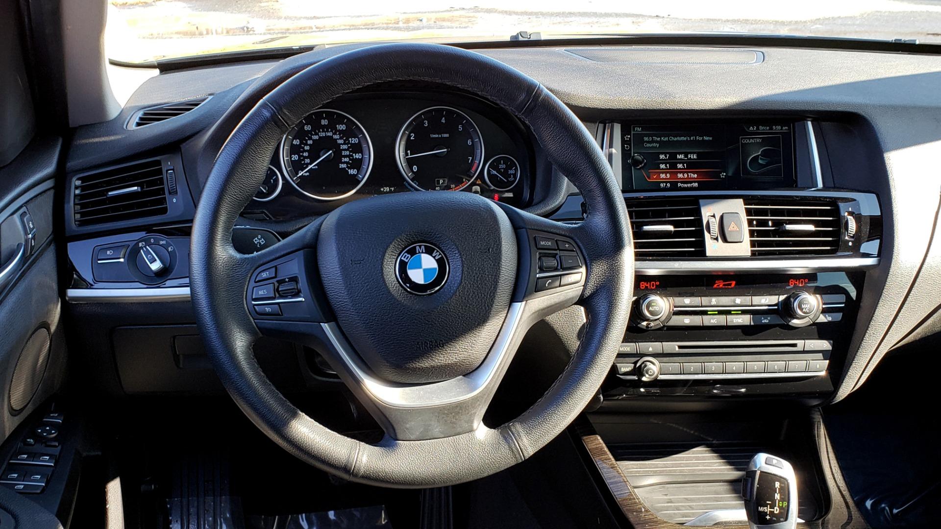 Used 2017 BMW X3 XDRIVE28I / PREM PKG / NAV / DRVR ASST / HTD STS / CAMERAS for sale Sold at Formula Imports in Charlotte NC 28227 45