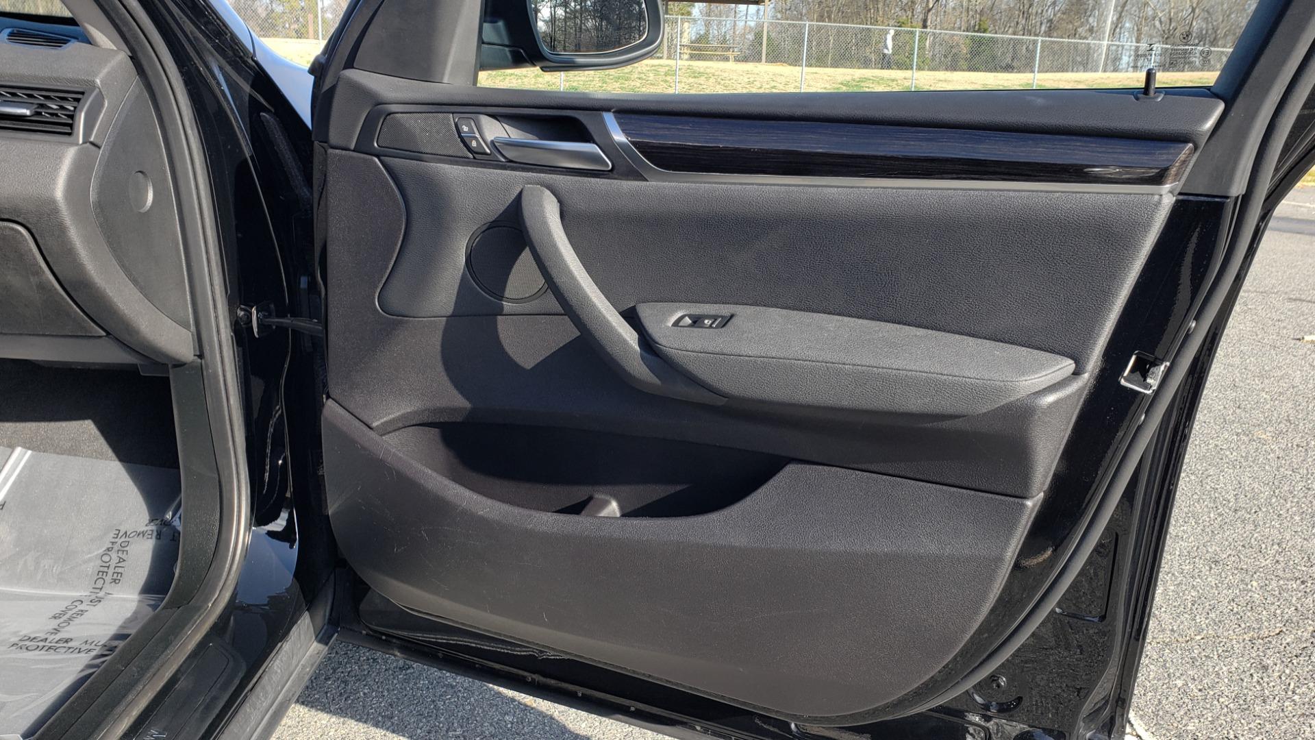 Used 2017 BMW X3 XDRIVE28I / PREM PKG / NAV / DRVR ASST / HTD STS / CAMERAS for sale Sold at Formula Imports in Charlotte NC 28227 75