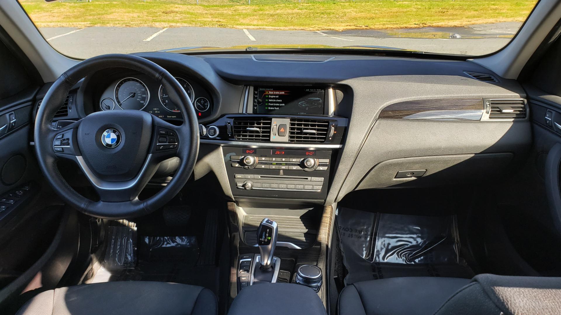 Used 2017 BMW X3 XDRIVE28I / PREM PKG / NAV / DRVR ASST / HTD STS / CAMERAS for sale Sold at Formula Imports in Charlotte NC 28227 89