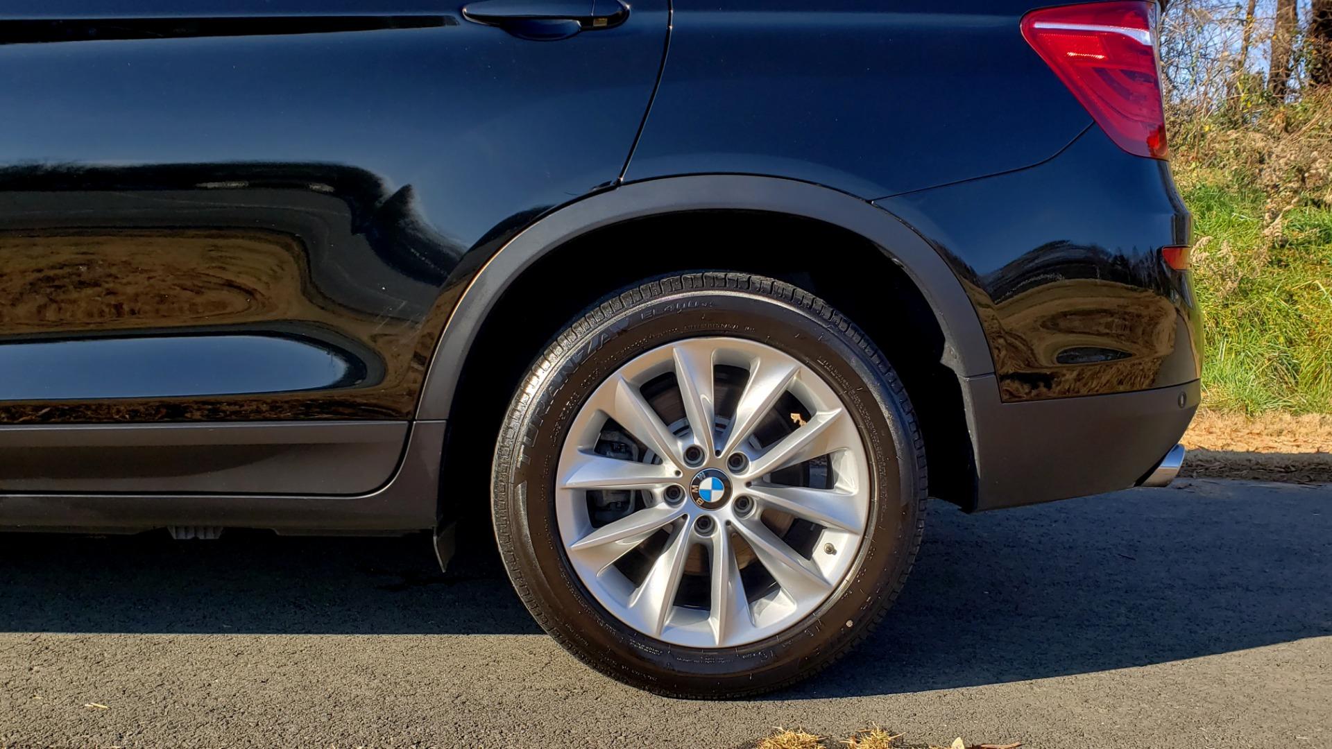 Used 2017 BMW X3 XDRIVE28I / PREM PKG / NAV / DRVR ASST / HTD STS / CAMERAS for sale Sold at Formula Imports in Charlotte NC 28227 91