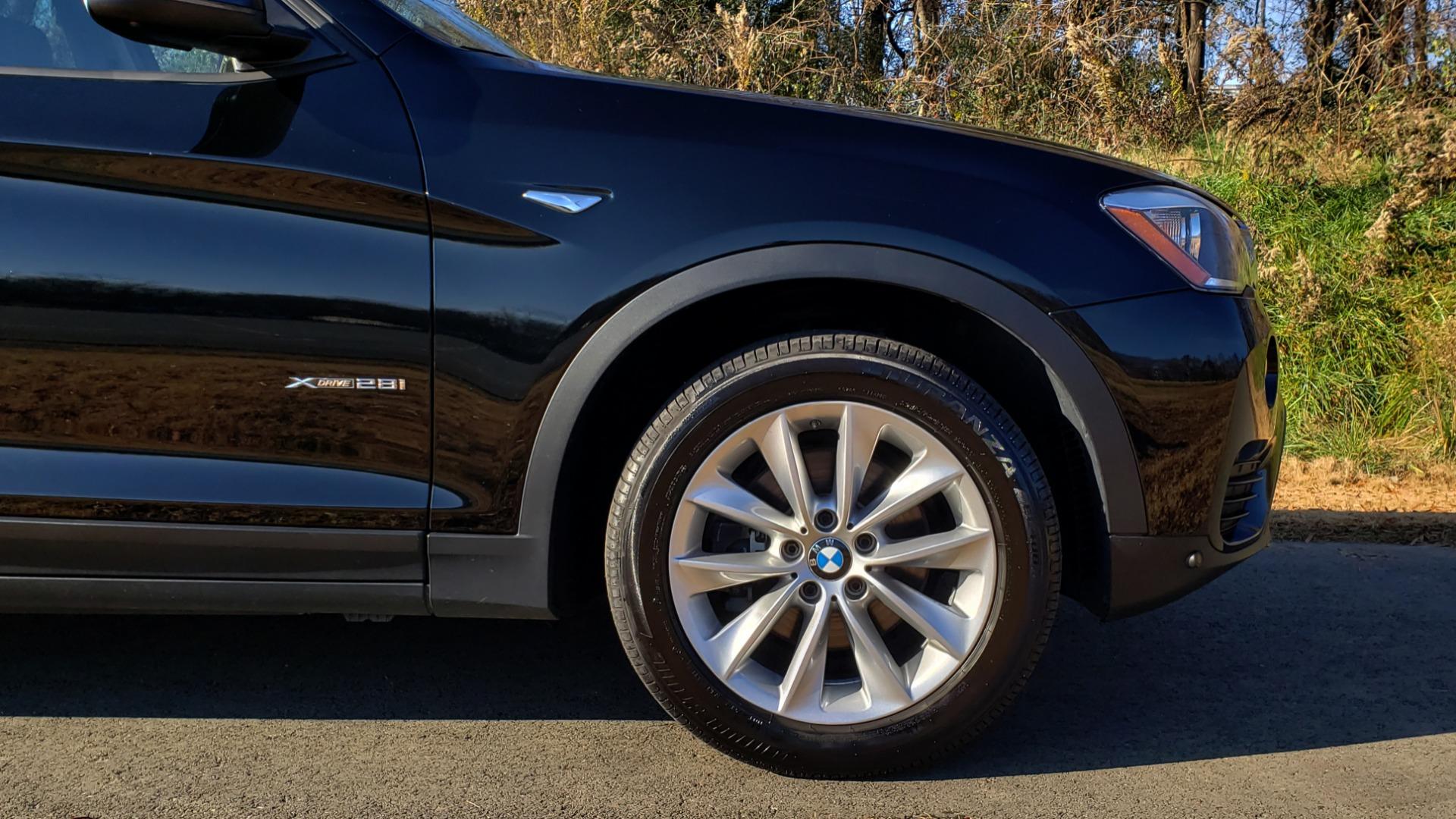 Used 2017 BMW X3 XDRIVE28I / PREM PKG / NAV / DRVR ASST / HTD STS / CAMERAS for sale Sold at Formula Imports in Charlotte NC 28227 93