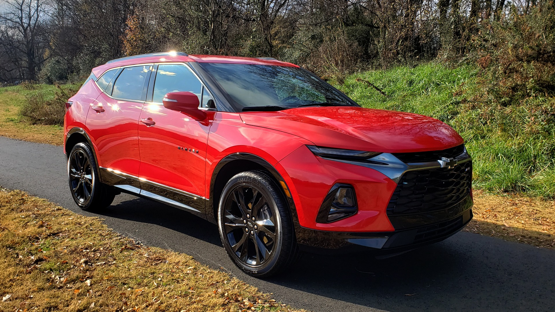 Used 2020 Chevrolet BLAZER RS / 3.6L V6 / 9-SPD AUTO / NAV / BOSE / HTD STS / REARVIEW for sale Sold at Formula Imports in Charlotte NC 28227 5