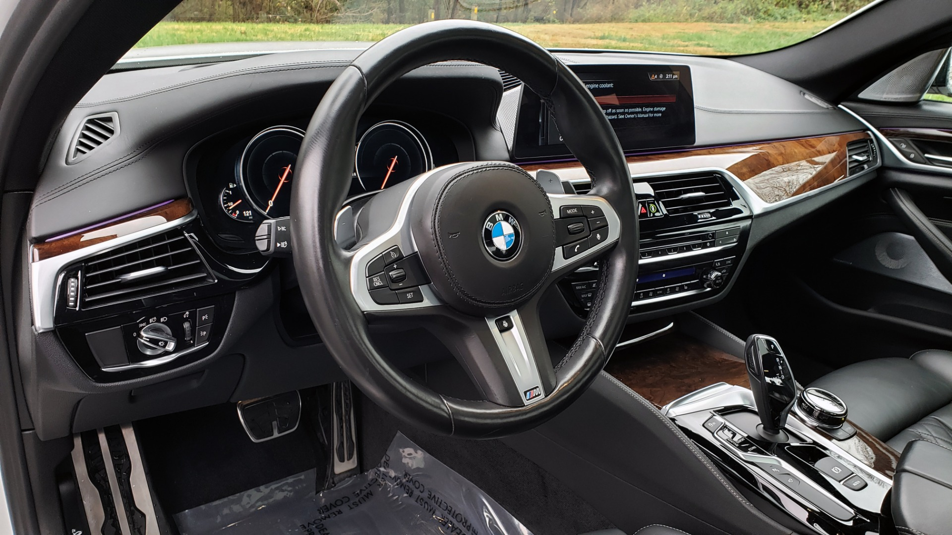 Used 2018 BMW 5 SERIES M550I XDRIVE EXEC PKG / DRVR ASST / CLD WTHR / ACTIVE DRV ASST for sale Sold at Formula Imports in Charlotte NC 28227 37