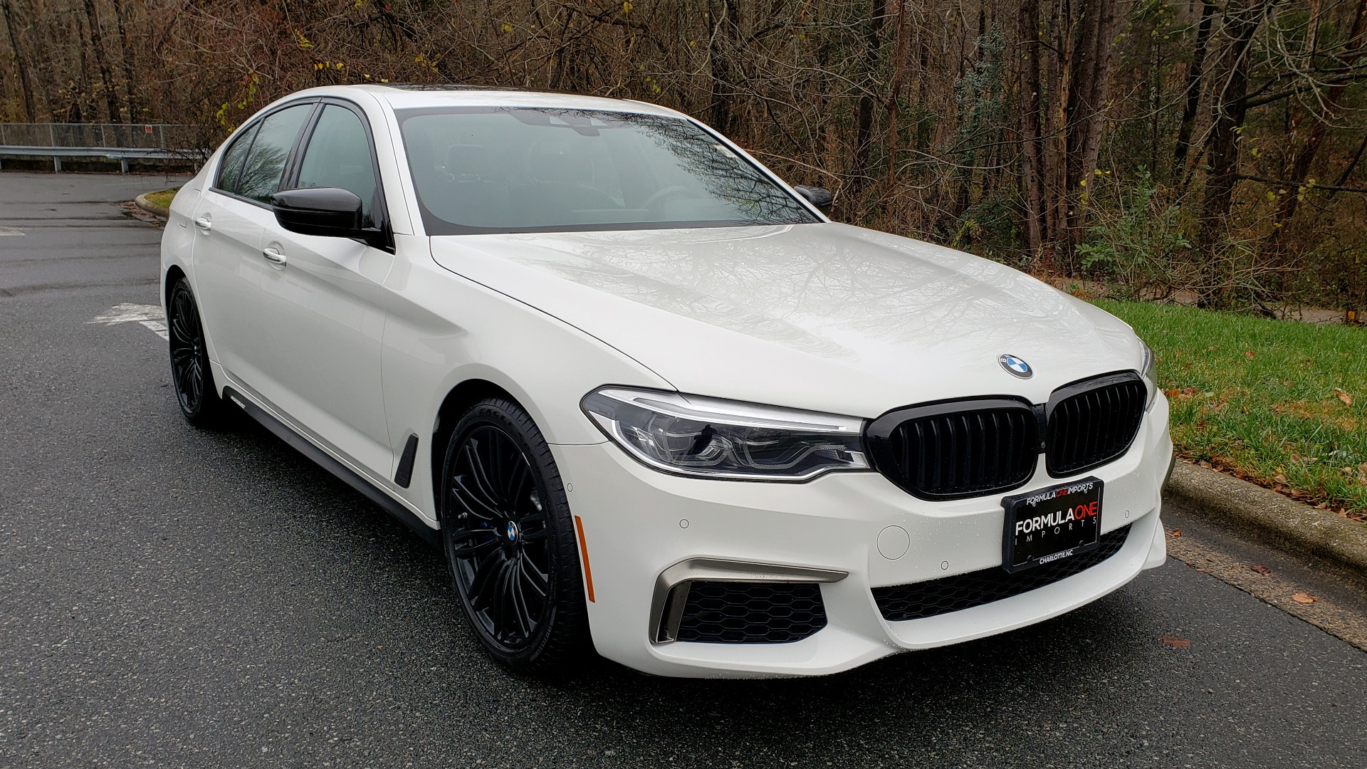Used 2018 BMW 5 SERIES M550I XDRIVE EXEC PKG / DRVR ASST / CLD WTHR / ACTIVE DRV ASST for sale Sold at Formula Imports in Charlotte NC 28227 6