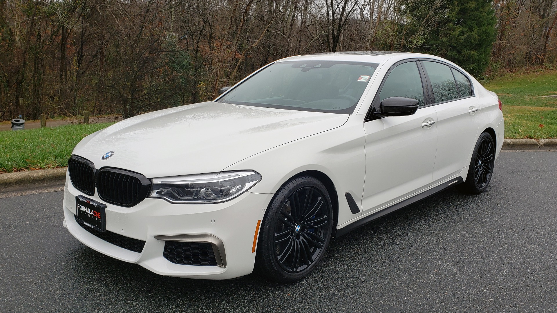 Used 2018 BMW 5 SERIES M550I XDRIVE EXEC PKG / DRVR ASST / CLD WTHR / ACTIVE DRV ASST for sale Sold at Formula Imports in Charlotte NC 28227 1