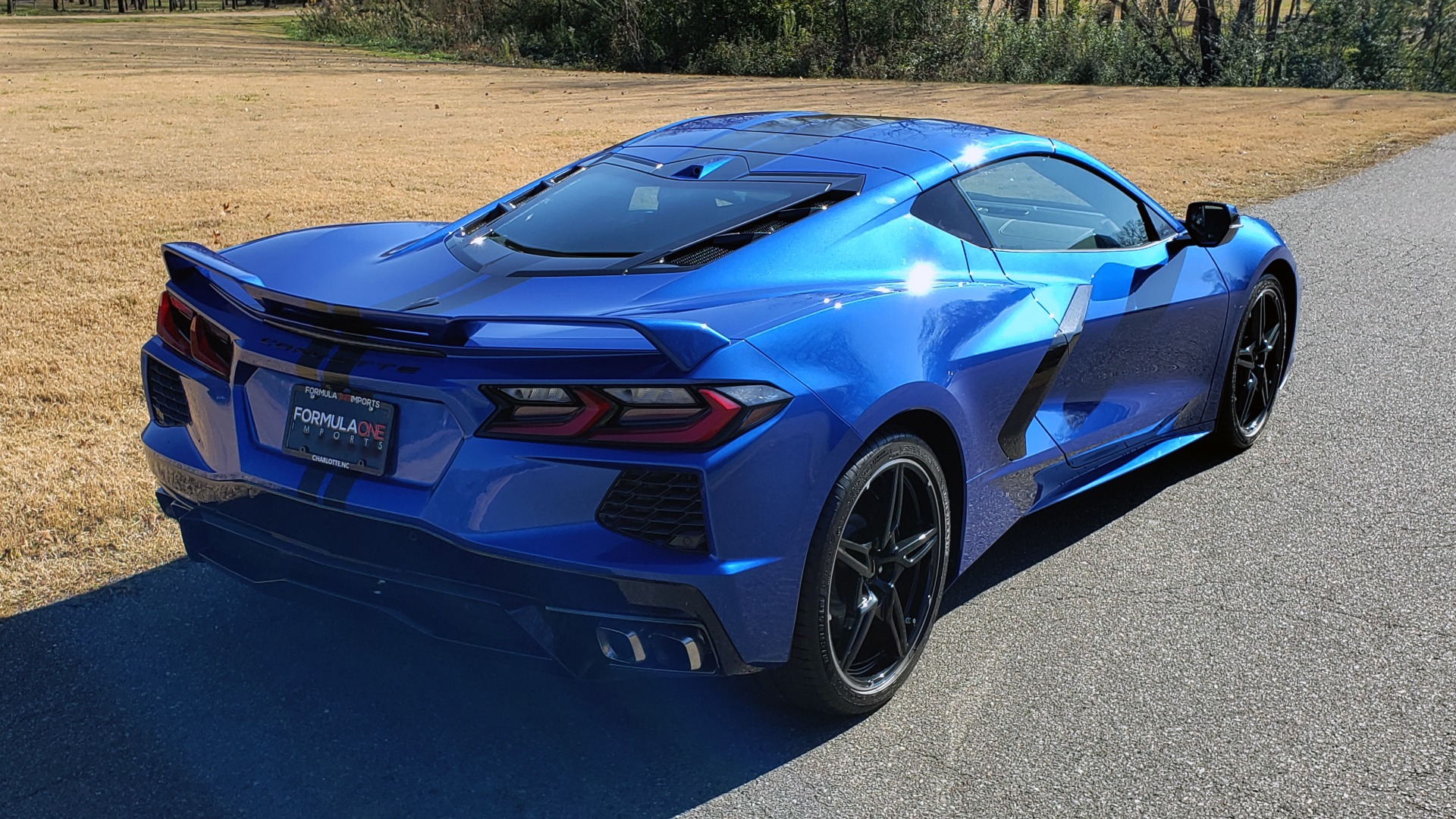 Used 2020 Chevrolet C8 CORVETTE STINGRAY 2LT COUPE / NAV / HUD / BOSE / GT2 SEATS / FRONT LIFT / REARVIEW for sale Sold at Formula Imports in Charlotte NC 28227 10