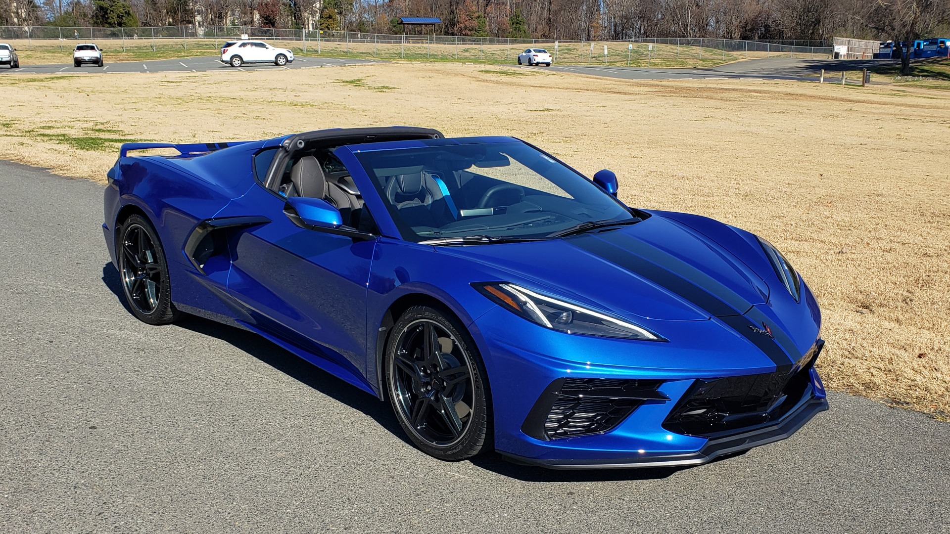 Used 2020 Chevrolet C8 CORVETTE STINGRAY 2LT COUPE / NAV / HUD / BOSE / GT2 SEATS / FRONT LIFT / REARVIEW for sale Sold at Formula Imports in Charlotte NC 28227 15