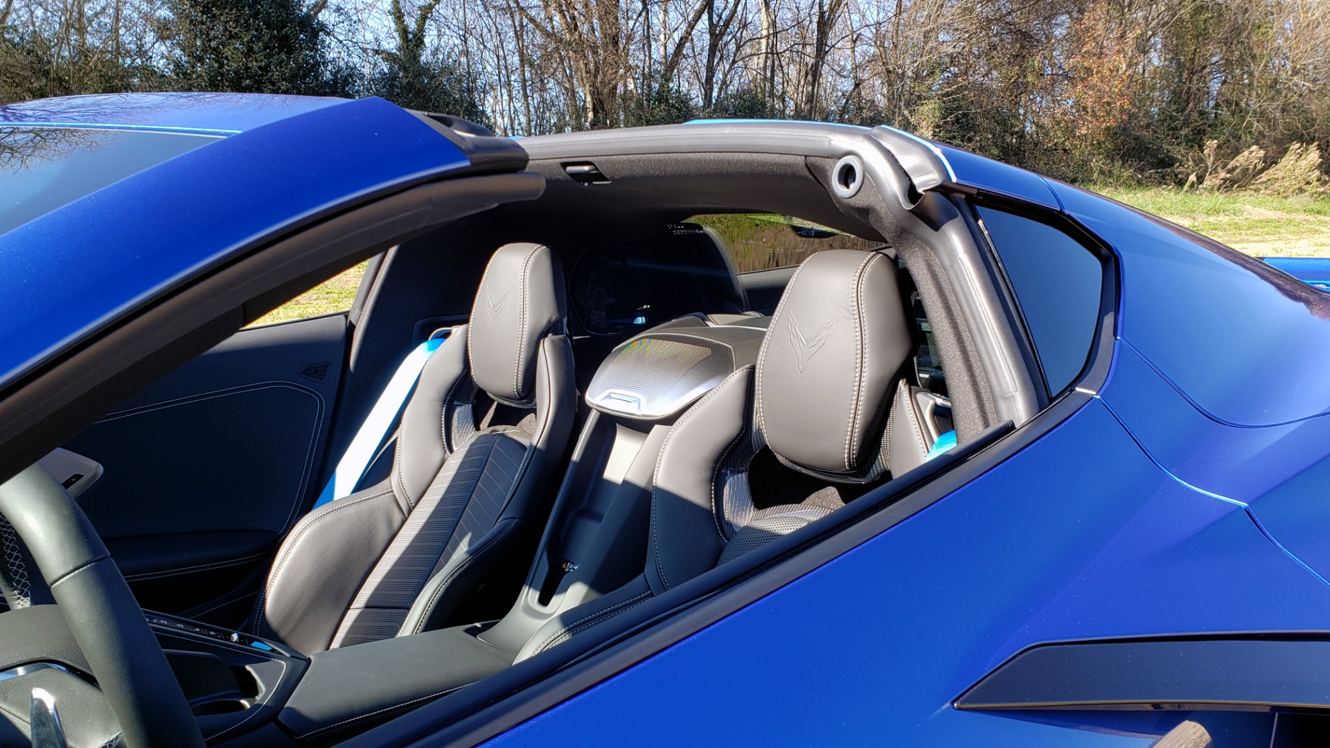 Used 2020 Chevrolet C8 CORVETTE STINGRAY 2LT COUPE / NAV / HUD / BOSE / GT2 SEATS / FRONT LIFT / REARVIEW for sale Sold at Formula Imports in Charlotte NC 28227 18