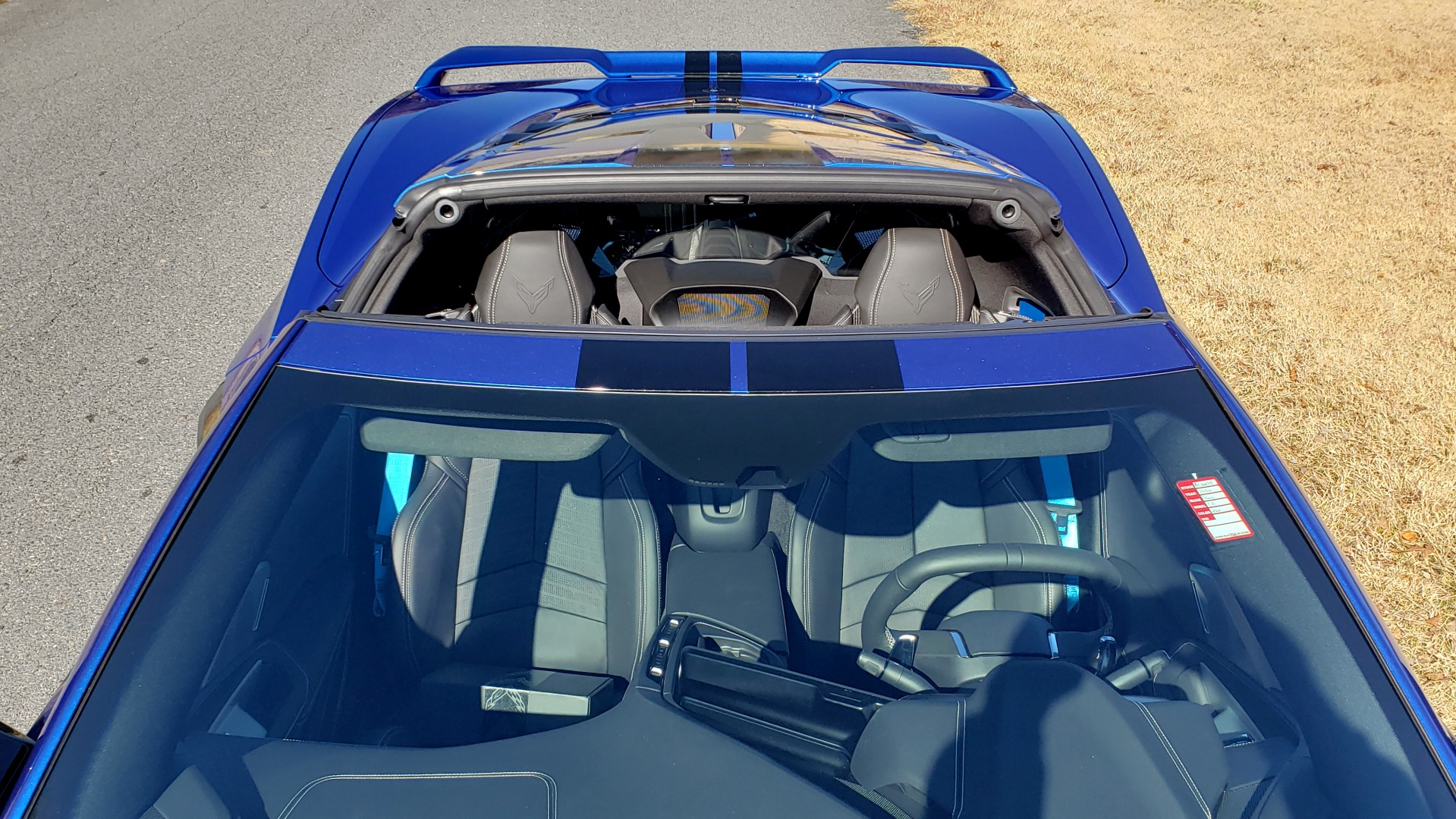Used 2020 Chevrolet C8 CORVETTE STINGRAY 2LT COUPE / NAV / HUD / BOSE / GT2 SEATS / FRONT LIFT / REARVIEW for sale Sold at Formula Imports in Charlotte NC 28227 19