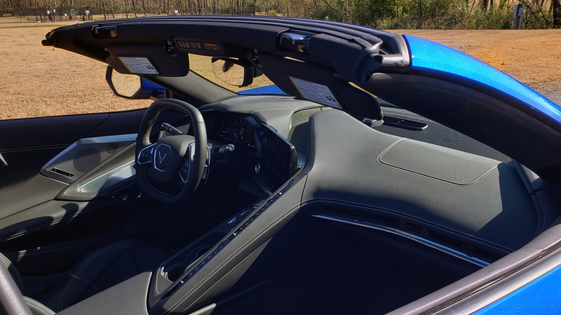 Used 2020 Chevrolet C8 CORVETTE STINGRAY 2LT COUPE / NAV / HUD / BOSE / GT2 SEATS / FRONT LIFT / REARVIEW for sale Sold at Formula Imports in Charlotte NC 28227 21