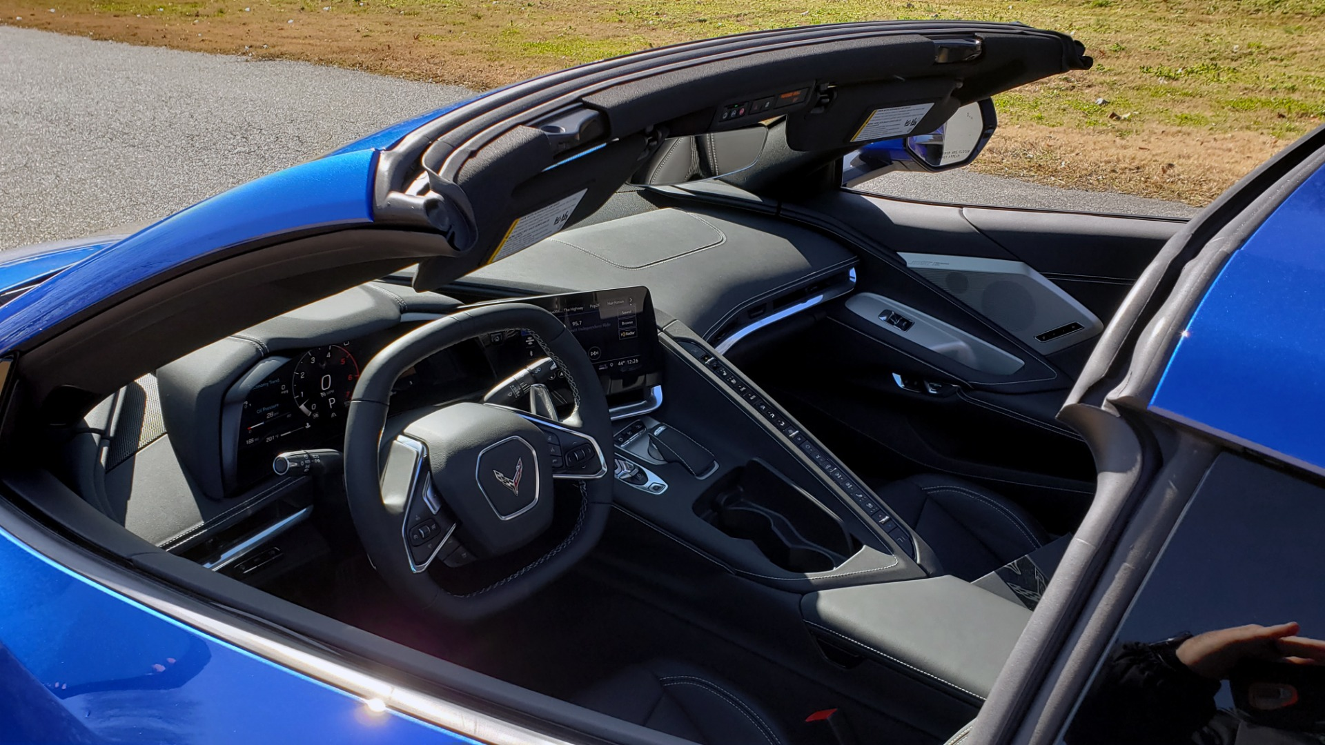 Used 2020 Chevrolet C8 CORVETTE STINGRAY 2LT COUPE / NAV / HUD / BOSE / GT2 SEATS / FRONT LIFT / REARVIEW for sale Sold at Formula Imports in Charlotte NC 28227 22