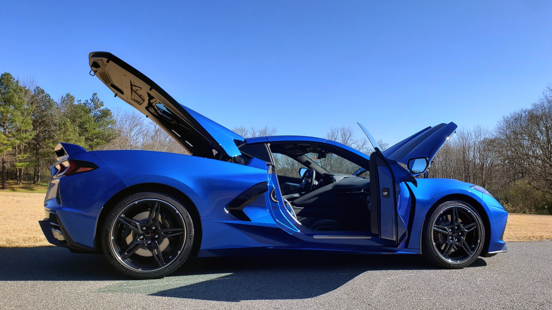 Used 2020 Chevrolet C8 CORVETTE STINGRAY 2LT COUPE / NAV / HUD / BOSE / GT2 SEATS / FRONT LIFT / REARVIEW for sale Sold at Formula Imports in Charlotte NC 28227 39