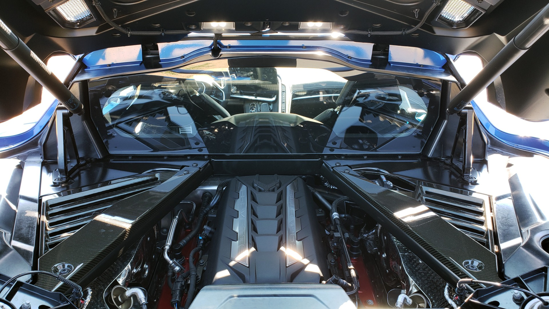 Used 2020 Chevrolet C8 CORVETTE STINGRAY 2LT COUPE / NAV / HUD / BOSE / GT2 SEATS / FRONT LIFT / REARVIEW for sale Sold at Formula Imports in Charlotte NC 28227 43