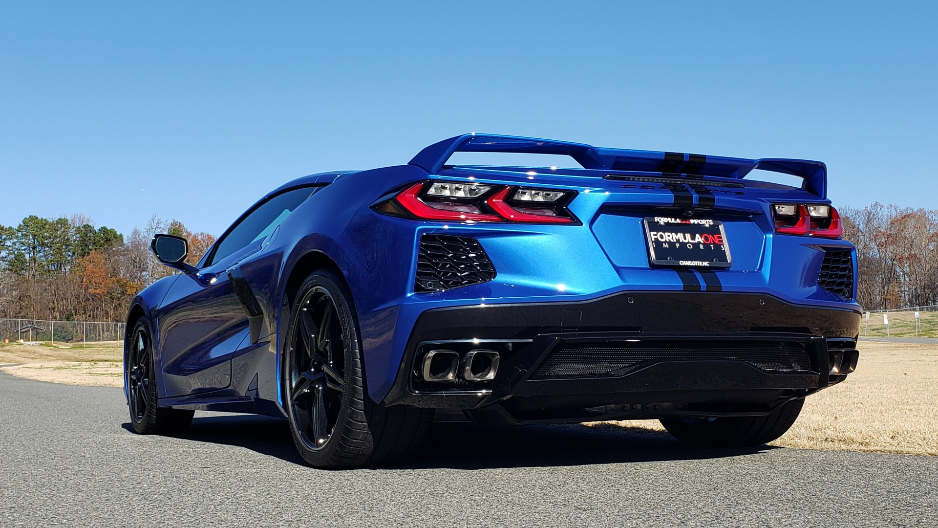 Used 2020 Chevrolet C8 CORVETTE STINGRAY 2LT COUPE / NAV / HUD / BOSE / GT2 SEATS / FRONT LIFT / REARVIEW for sale Sold at Formula Imports in Charlotte NC 28227 8