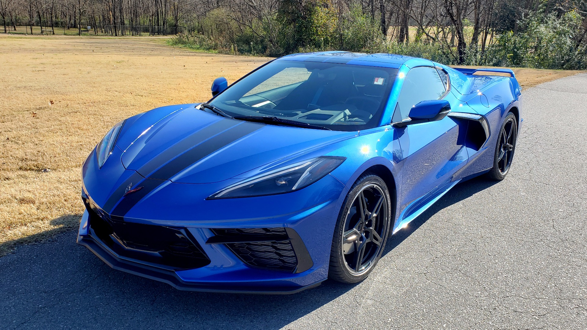 Used 2020 Chevrolet C8 CORVETTE STINGRAY 2LT COUPE / NAV / HUD / BOSE / GT2 SEATS / FRONT LIFT / REARVIEW for sale Sold at Formula Imports in Charlotte NC 28227 1