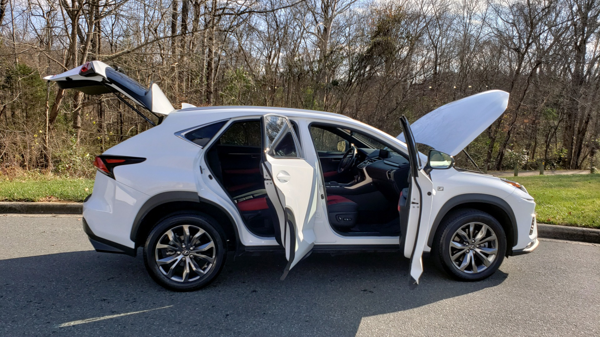Used 2019 Lexus NX 300 F-SPORT / 2.0L TURBO / LEATHER / 18IN WHEELS / REARVIEW for sale $31,195 at Formula Imports in Charlotte NC 28227 10