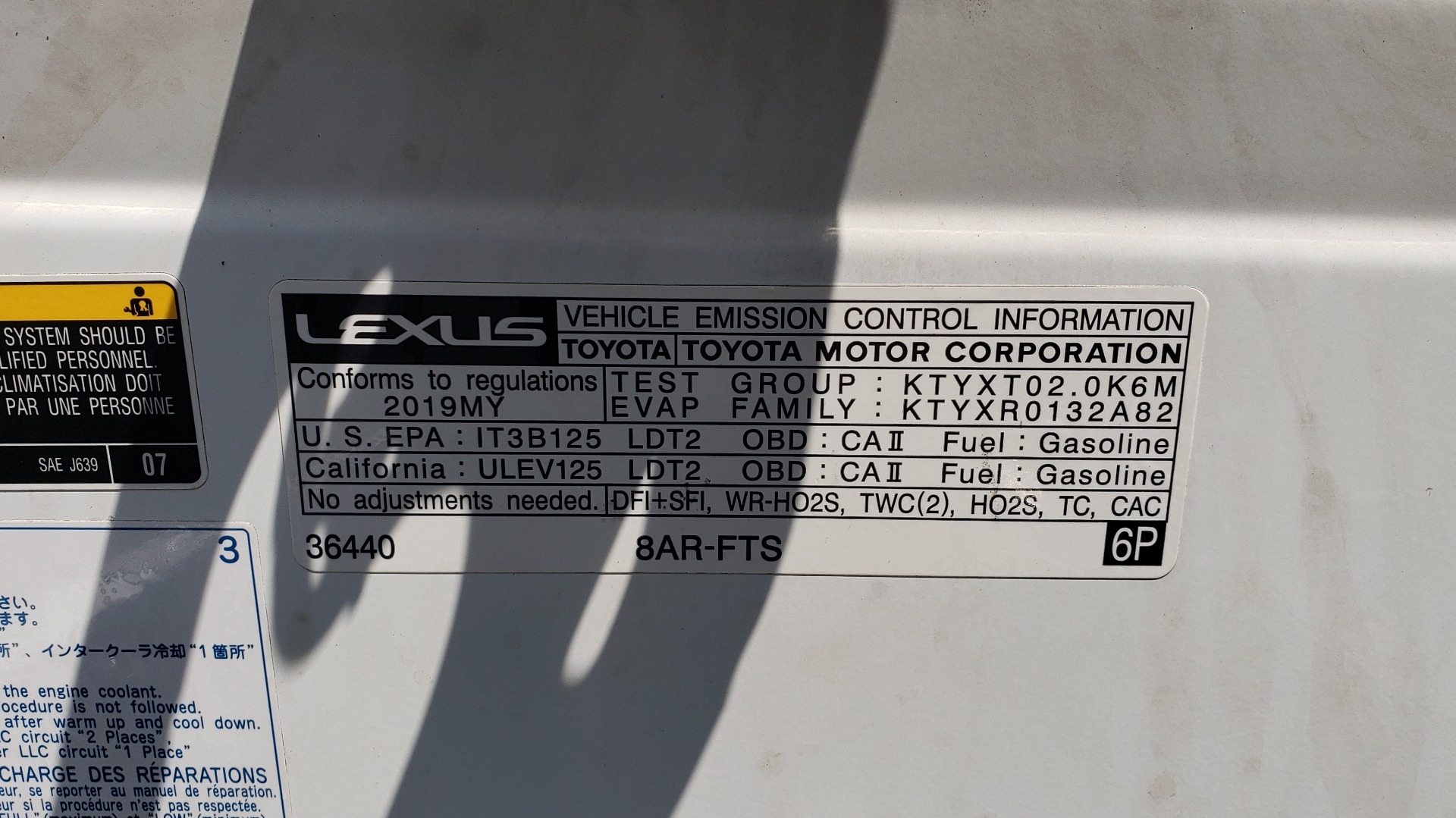 Used 2019 Lexus NX 300 F-SPORT / 2.0L TURBO / LEATHER / 18IN WHEELS / REARVIEW for sale $31,195 at Formula Imports in Charlotte NC 28227 16