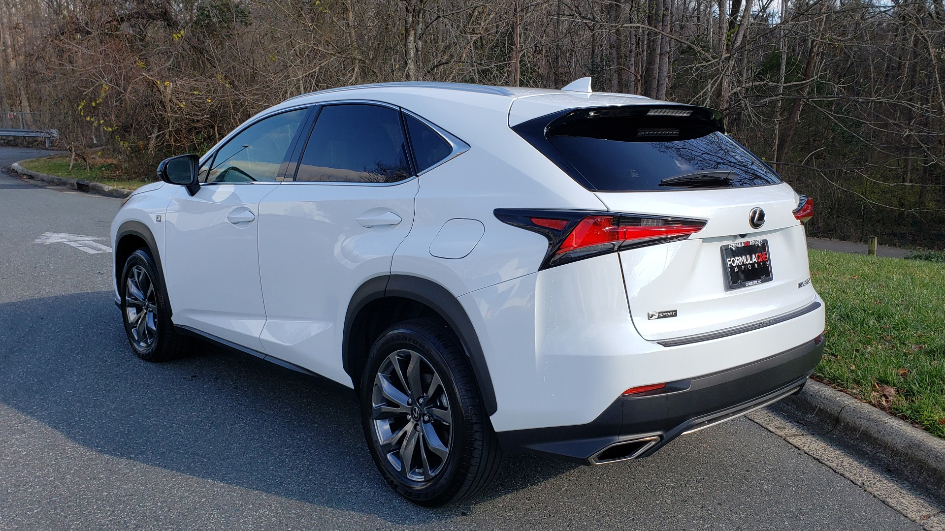 Used 2019 Lexus NX 300 F-SPORT / 2.0L TURBO / LEATHER / 18IN WHEELS / REARVIEW for sale Sold at Formula Imports in Charlotte NC 28227 3